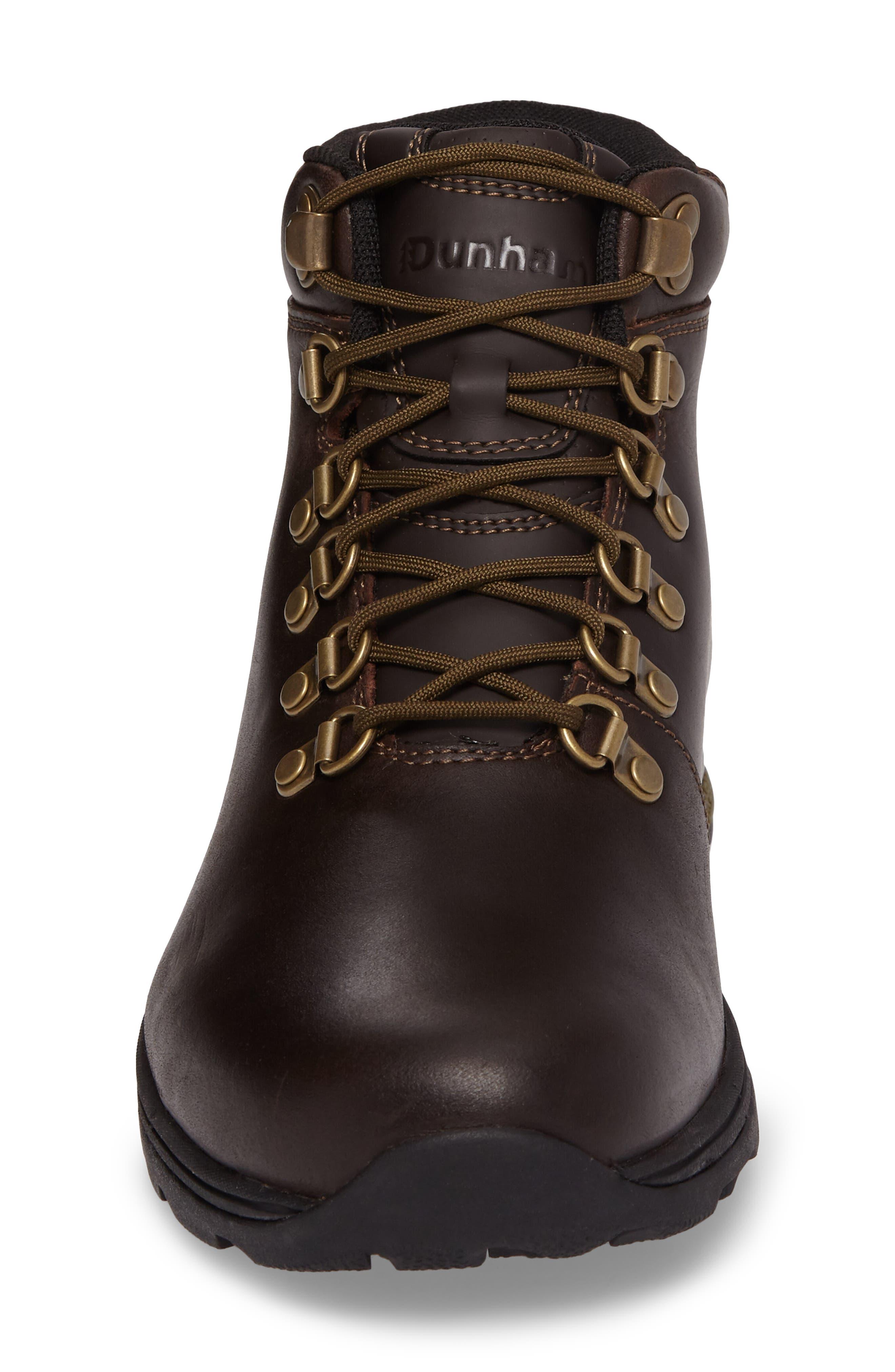 Trukka Waterproof Boot,                             Alternate thumbnail 4, color,                             Brown