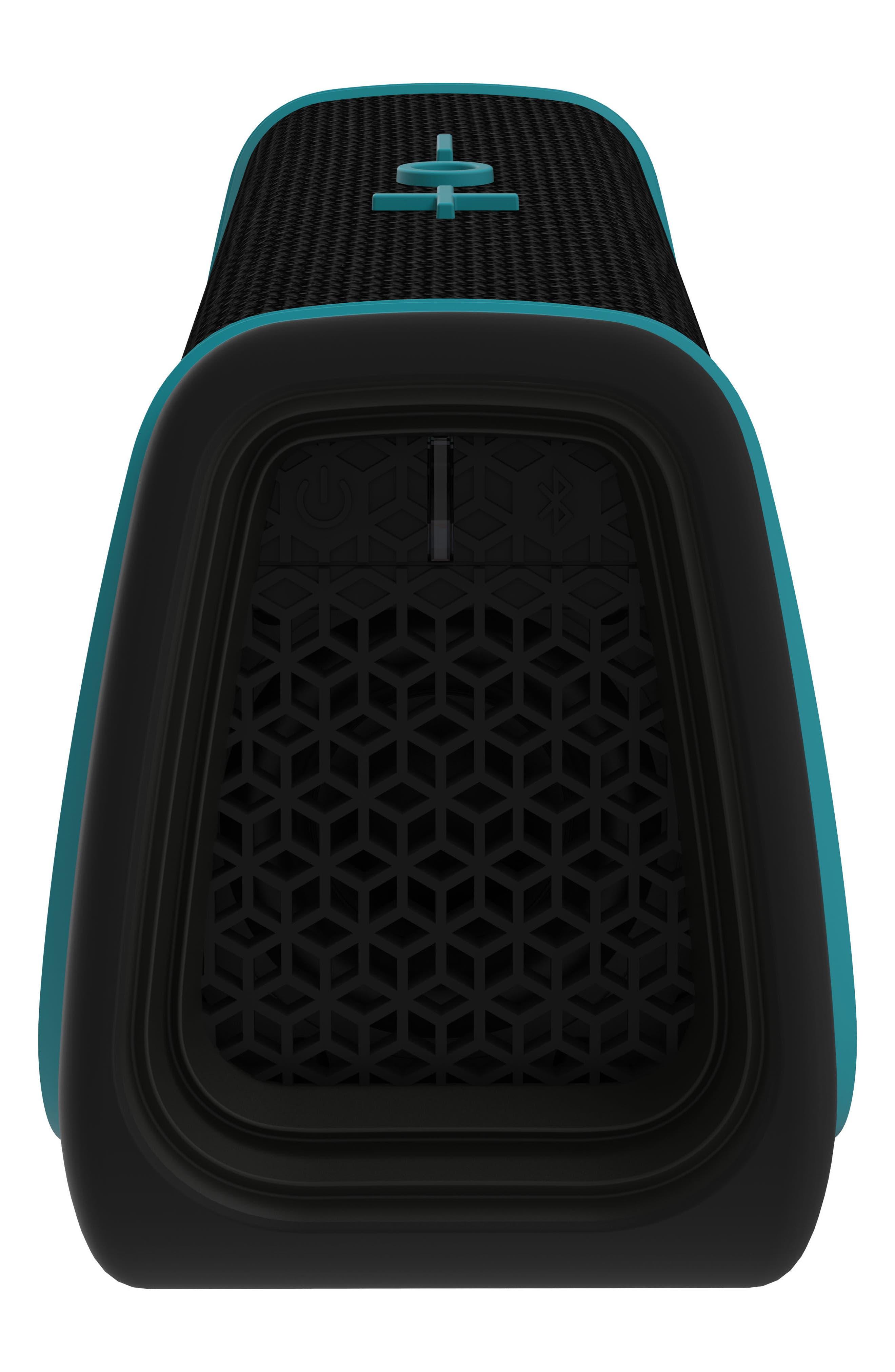 Sport Waterproof Bluetooth Speaker,                             Alternate thumbnail 2, color,                             Black/ Blue