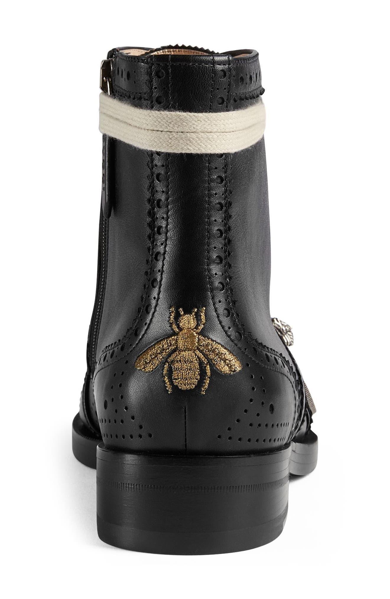 Alternate Image 4  - Gucci Queercore Combat Boot (Women)