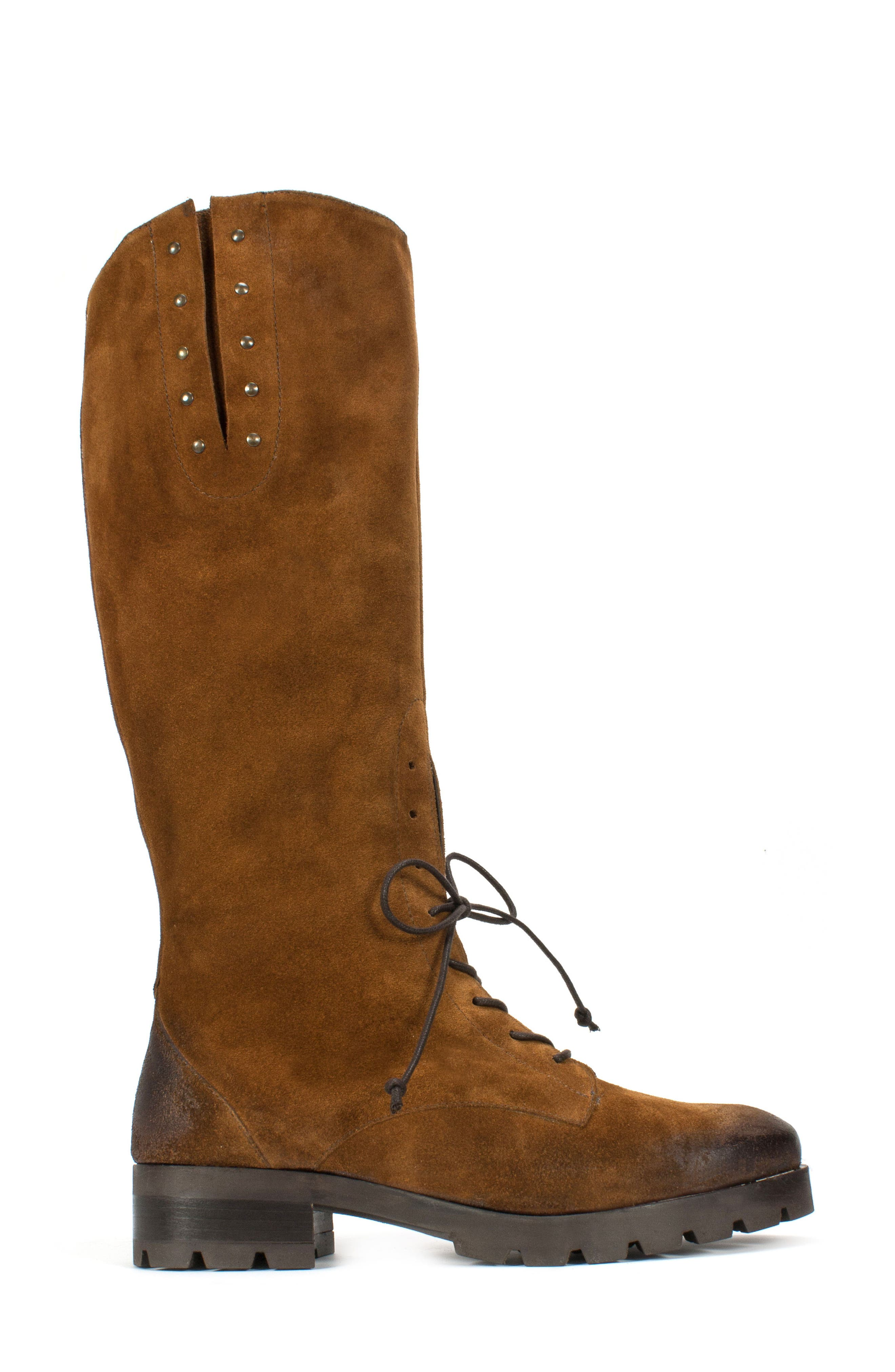 Dobbs Boot,                             Alternate thumbnail 3, color,                             Camel Suede