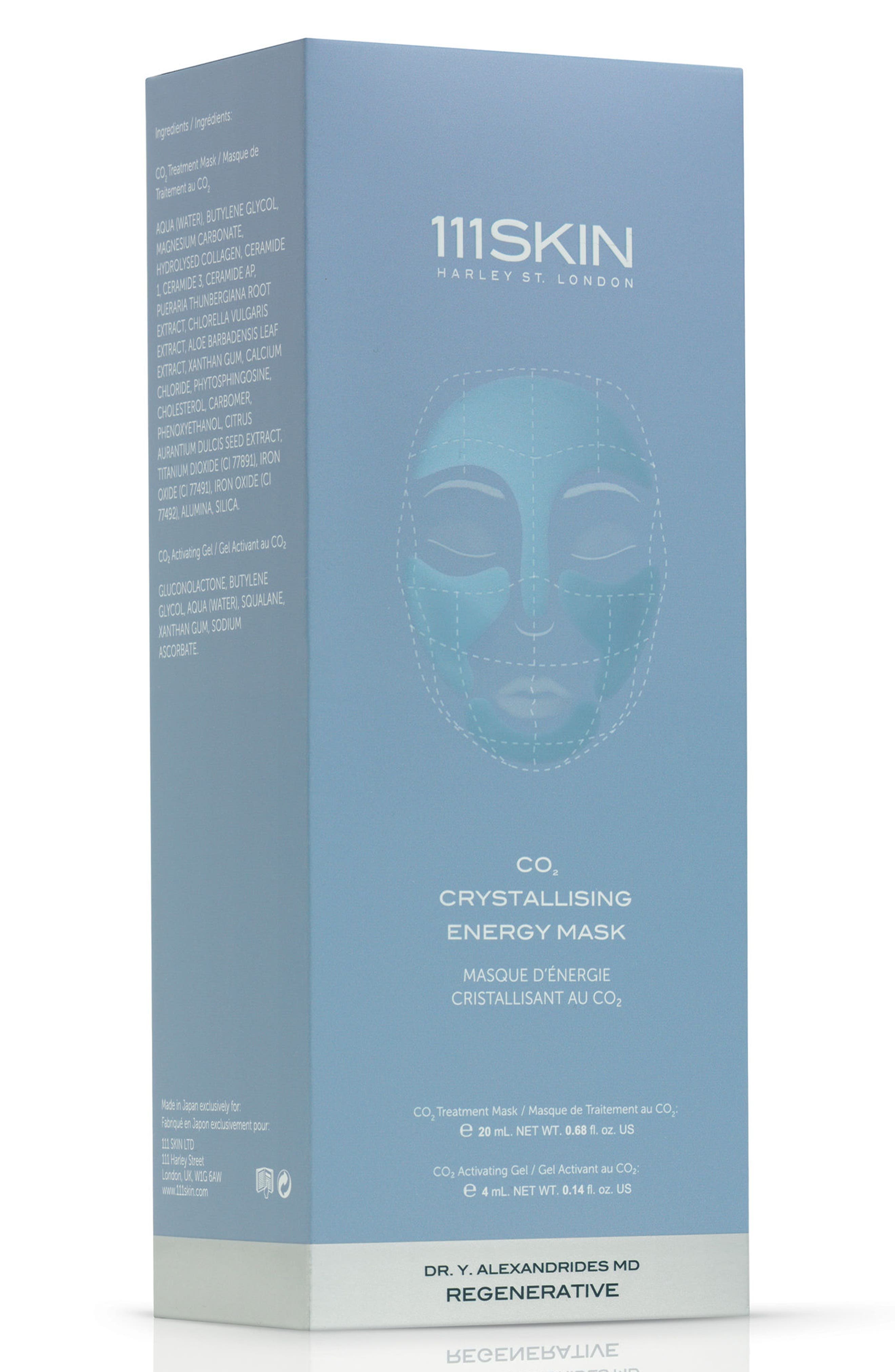 SPACE.NK.apothecary 111SKIN Co2 Crystallizing Energizing Mask