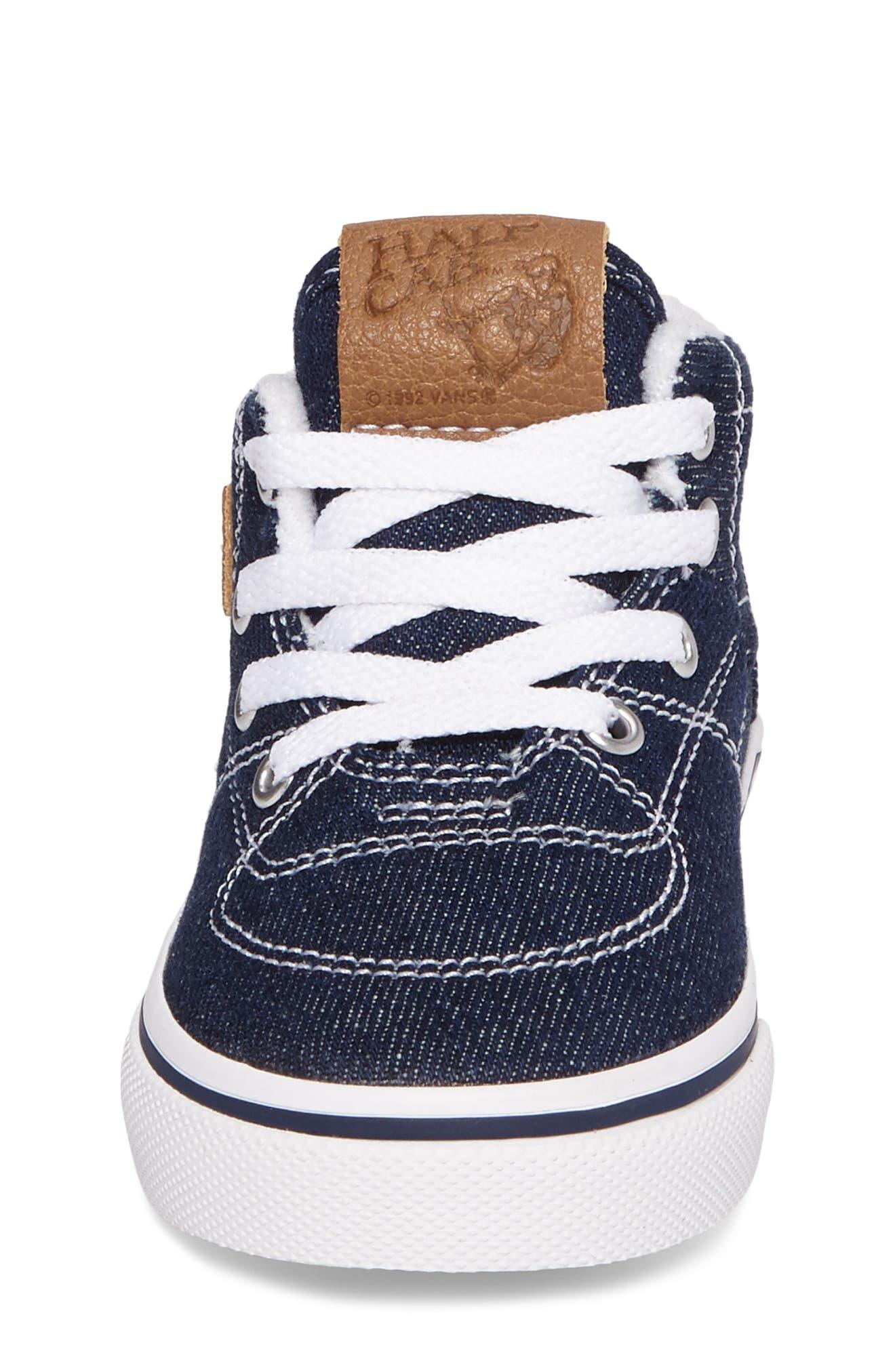 Alternate Image 4  - Vans Half Cab Sneaker (Baby, Walker & Toddler)