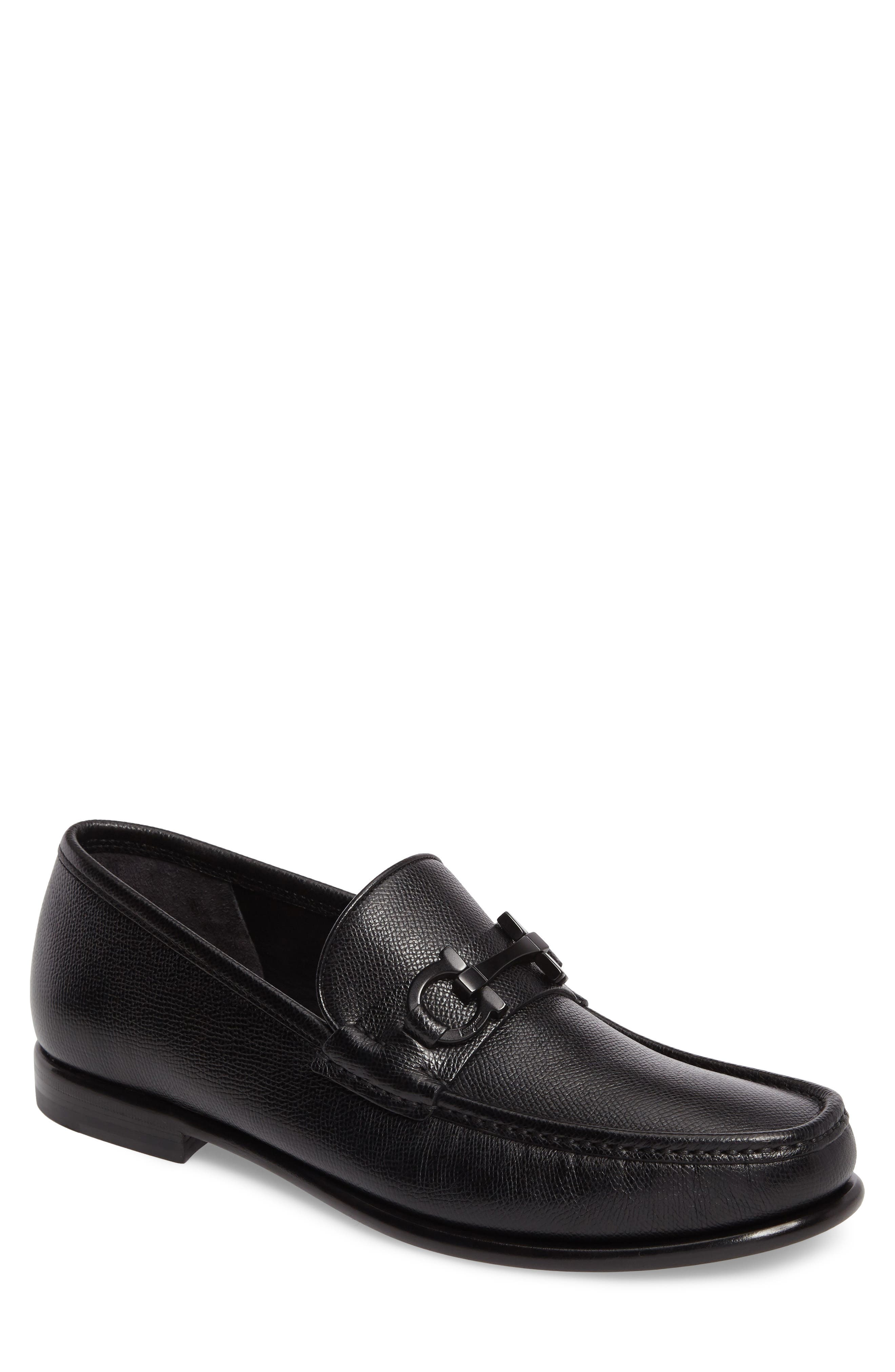 Crown Bit Loafer,                             Main thumbnail 1, color,                             Nero