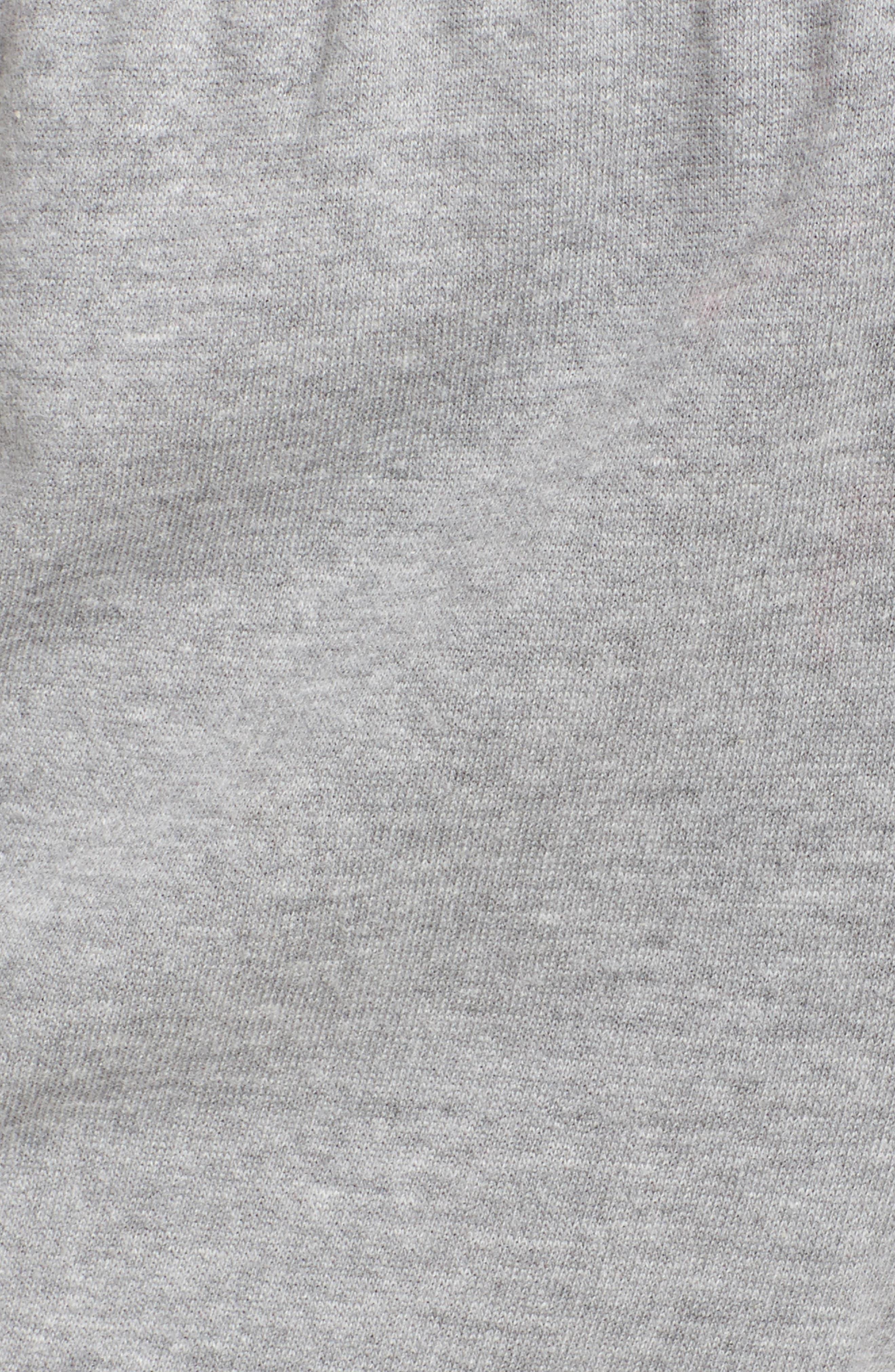 Lounge Shorts,                             Alternate thumbnail 5, color,                             Heather Grey