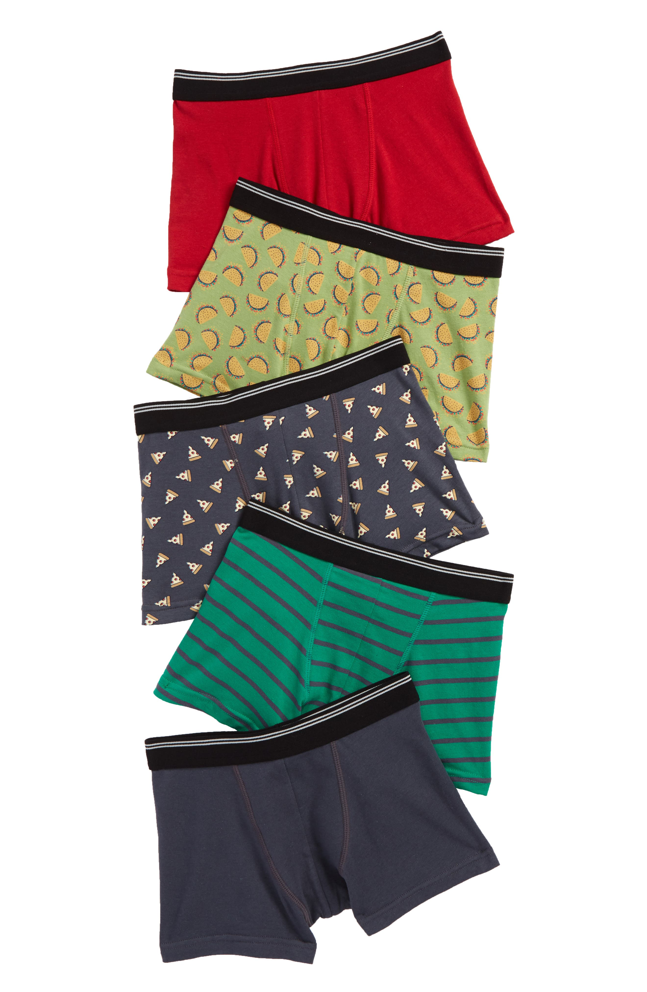 Tucker + Tate 5-Pack Trunks (Toddler Boys, Little Boys & Big Boys)