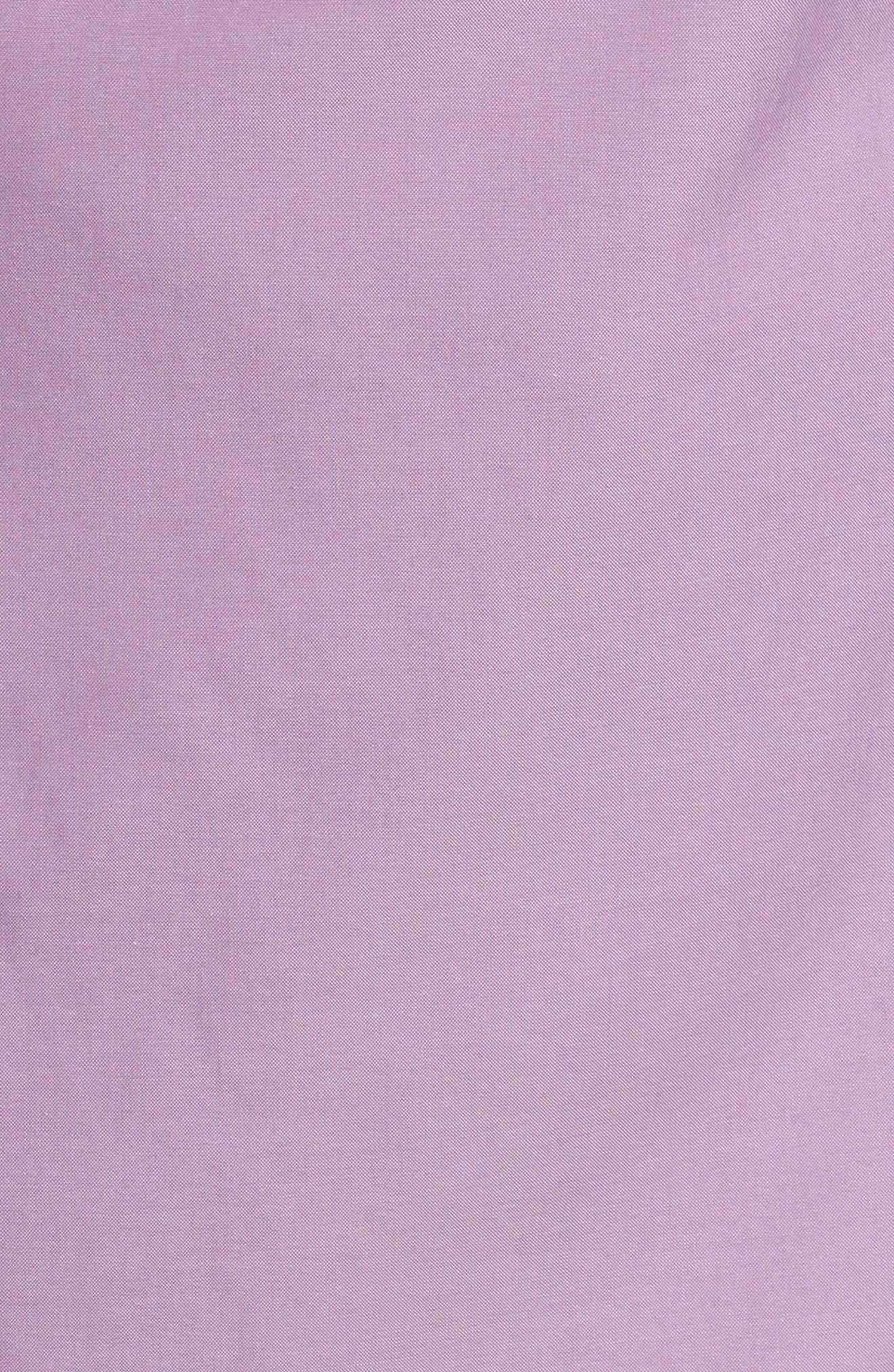 Pinpoint Oxford Cloth Shirt,                             Alternate thumbnail 5, color,                             Mauve