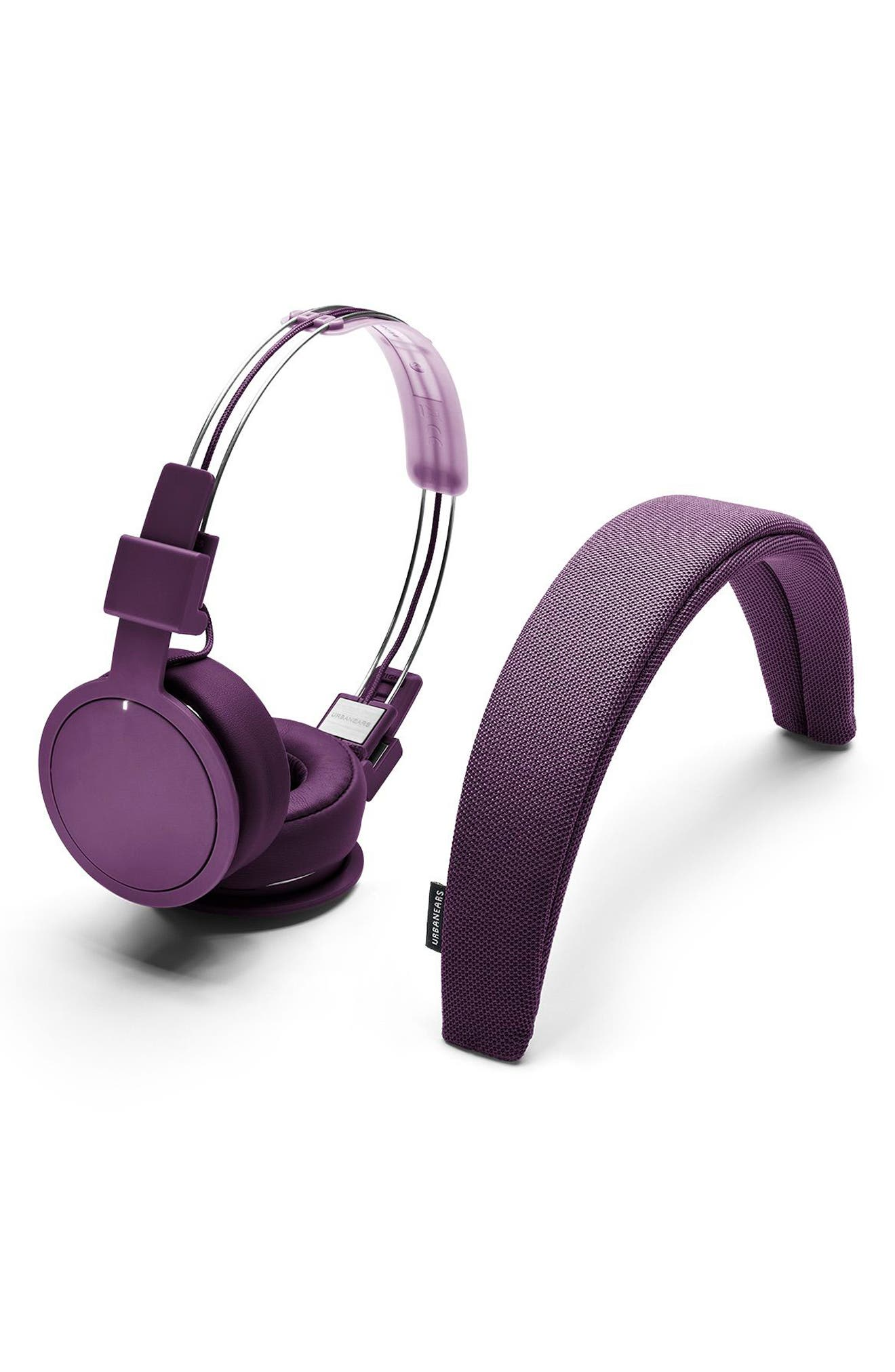 'Plattan ADV Wireless' Bluetooth<sup>®</sup> On-Ear Headphones,                             Alternate thumbnail 4, color,                             Cosmos Purple