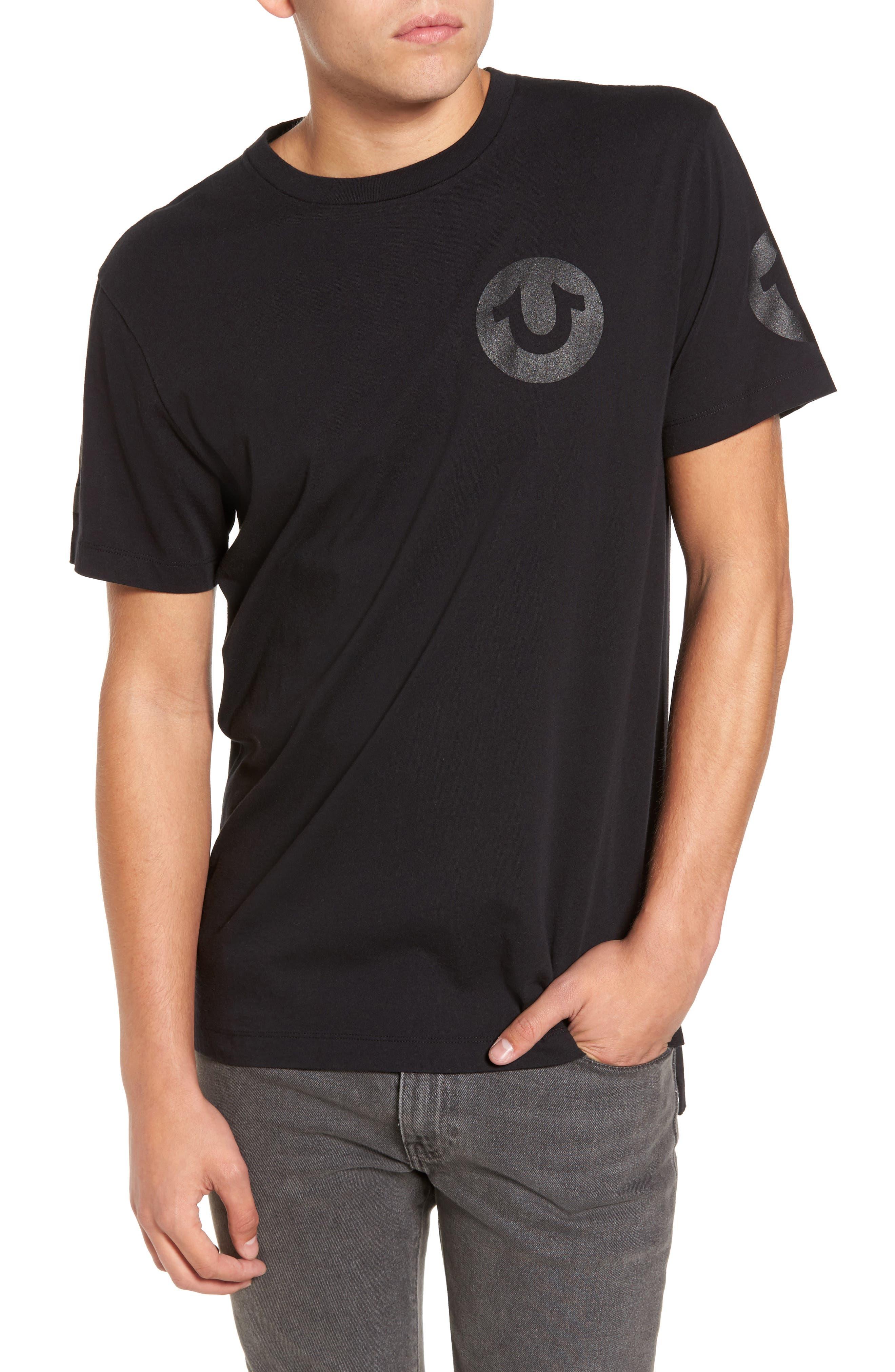 Graphic T-Shirt,                             Main thumbnail 1, color,                             Black
