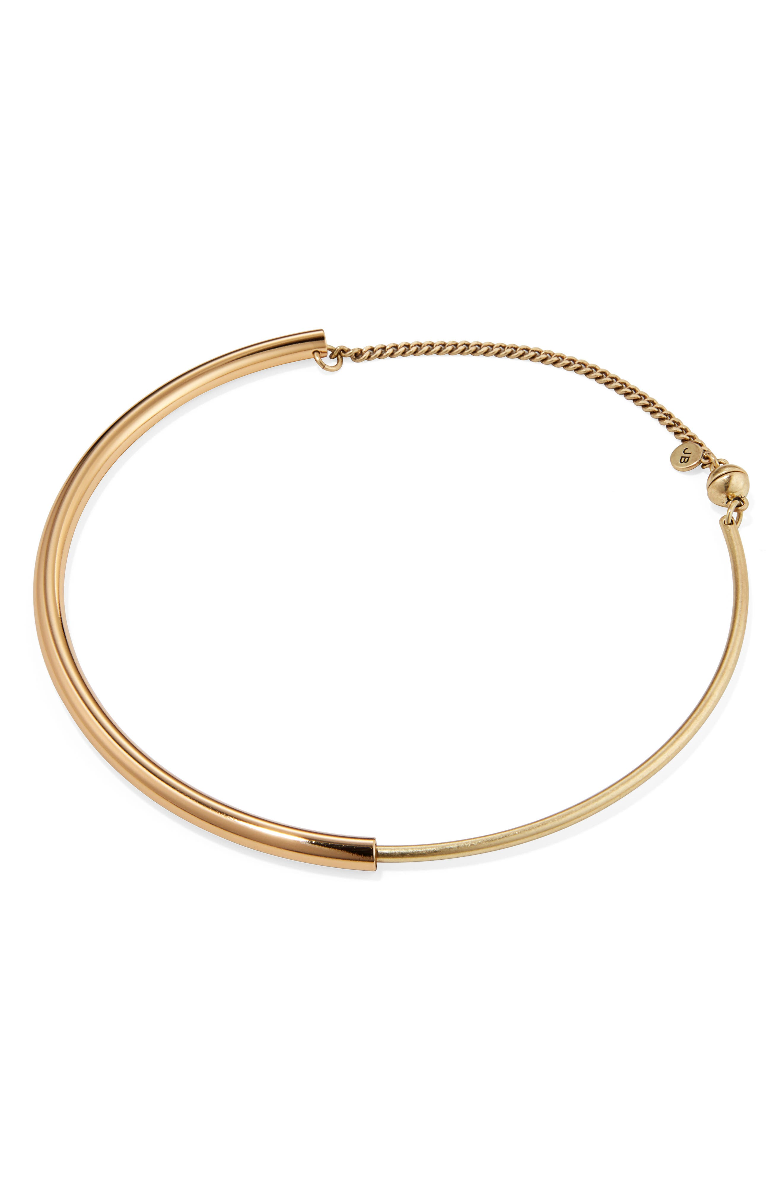 Lola Collar Necklace,                         Main,                         color, Gold