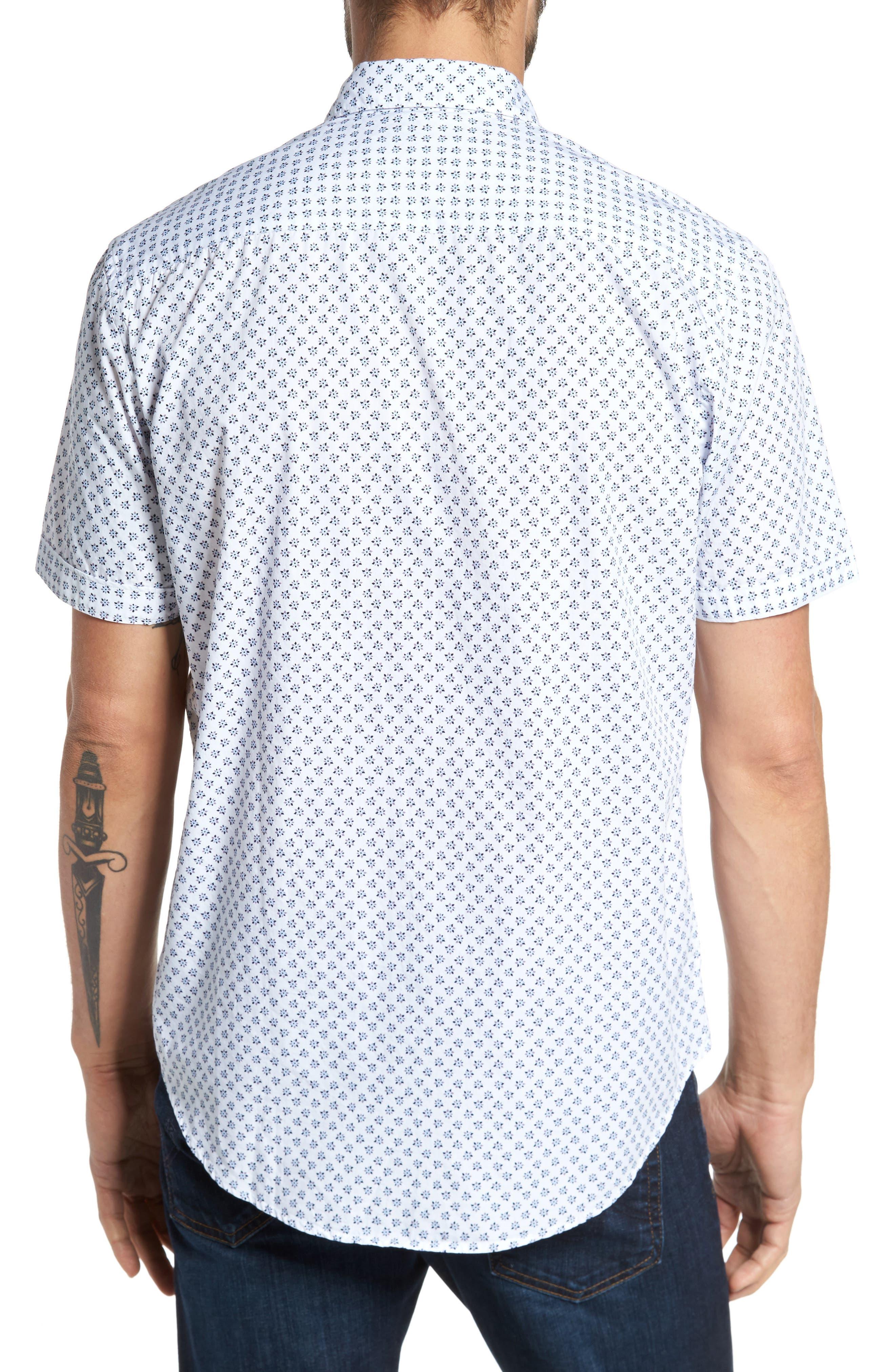 Alternate Image 2  - Coastaoro Santo Regular Fit Print Sport Shirt