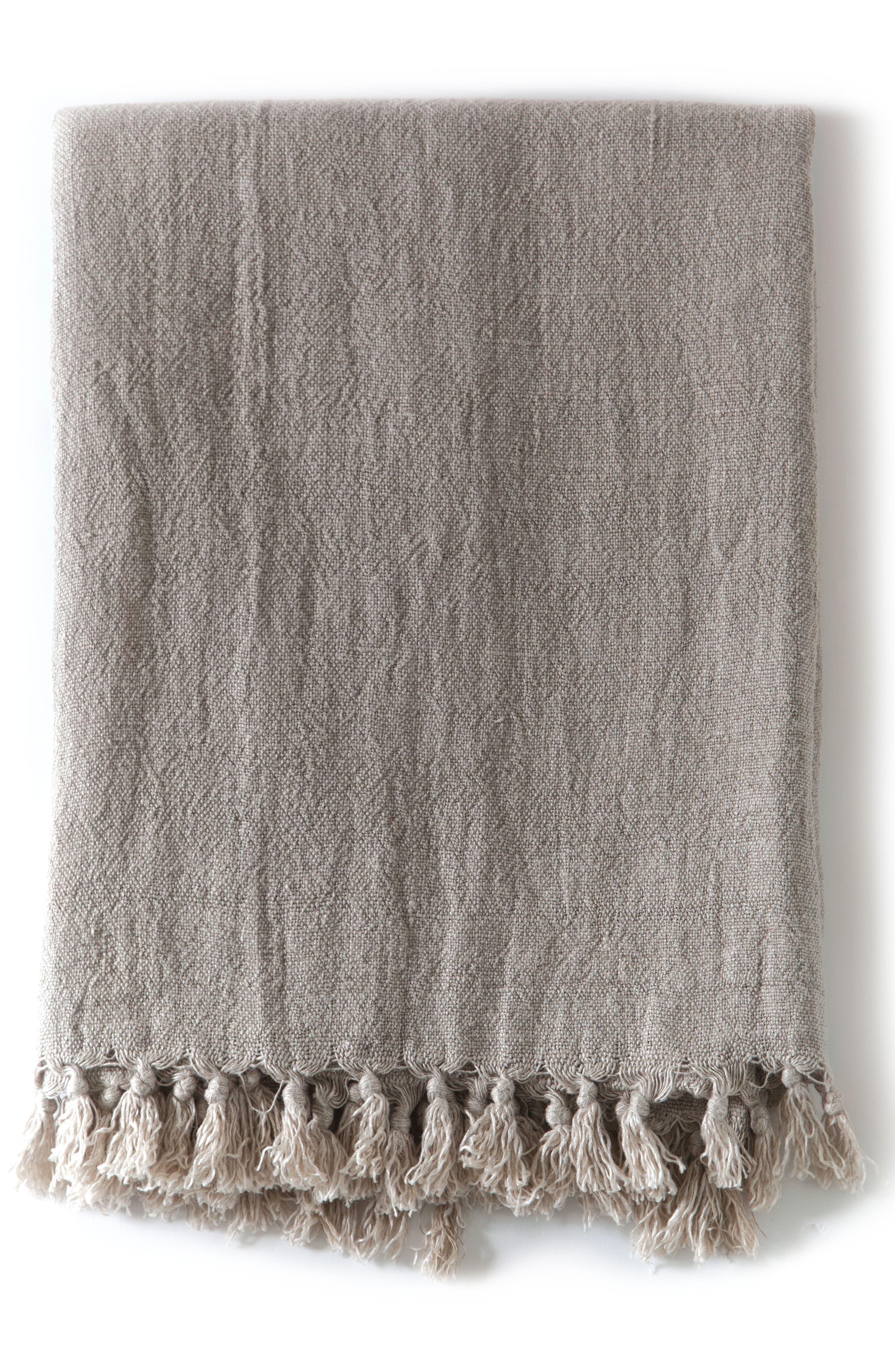 Alternate Image 1 Selected - Pom Pom at Home Montauk Big Throw Blanket