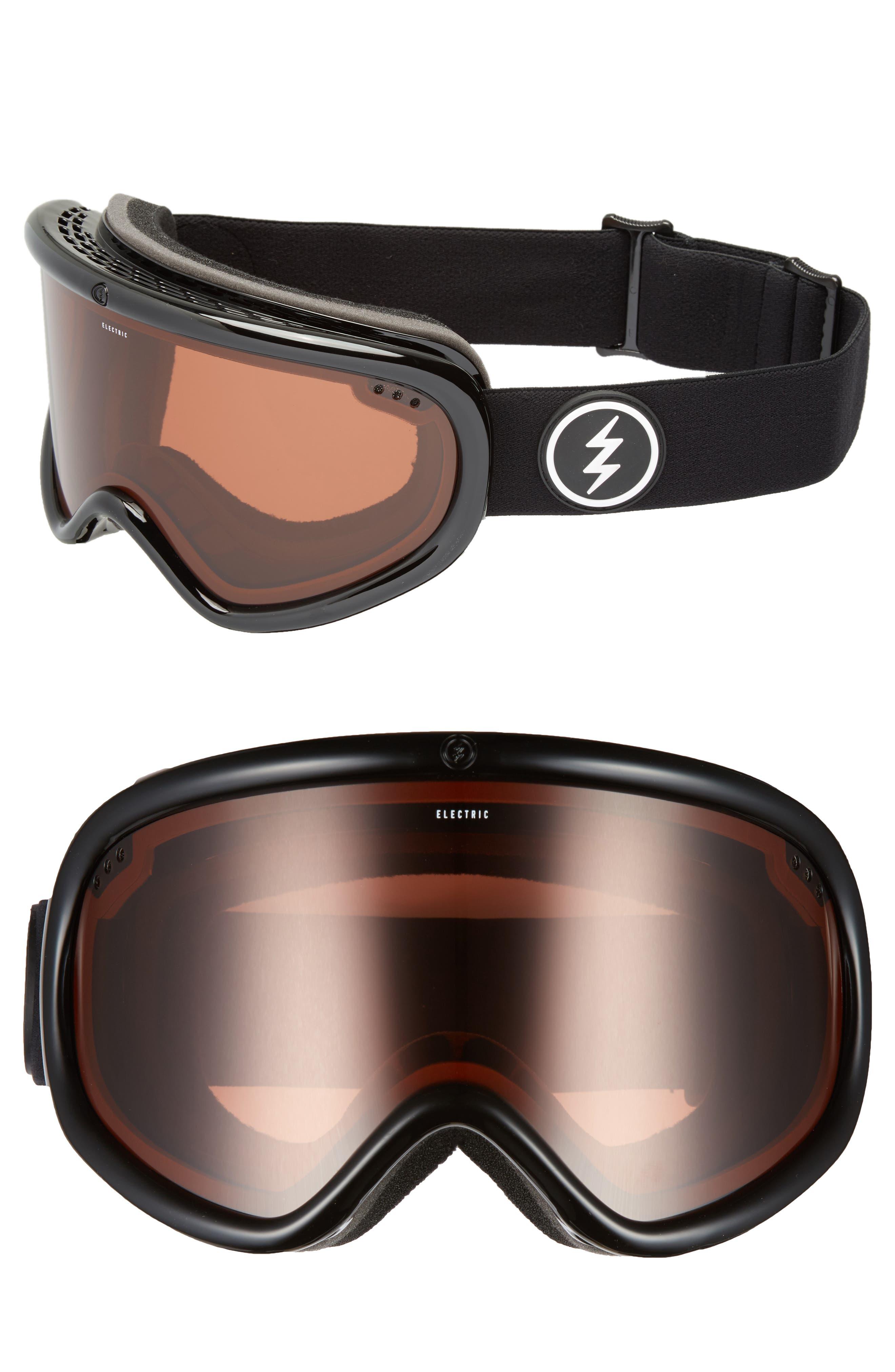 Charger XL Snow Goggles,                             Main thumbnail 1, color,                             Gloss Black