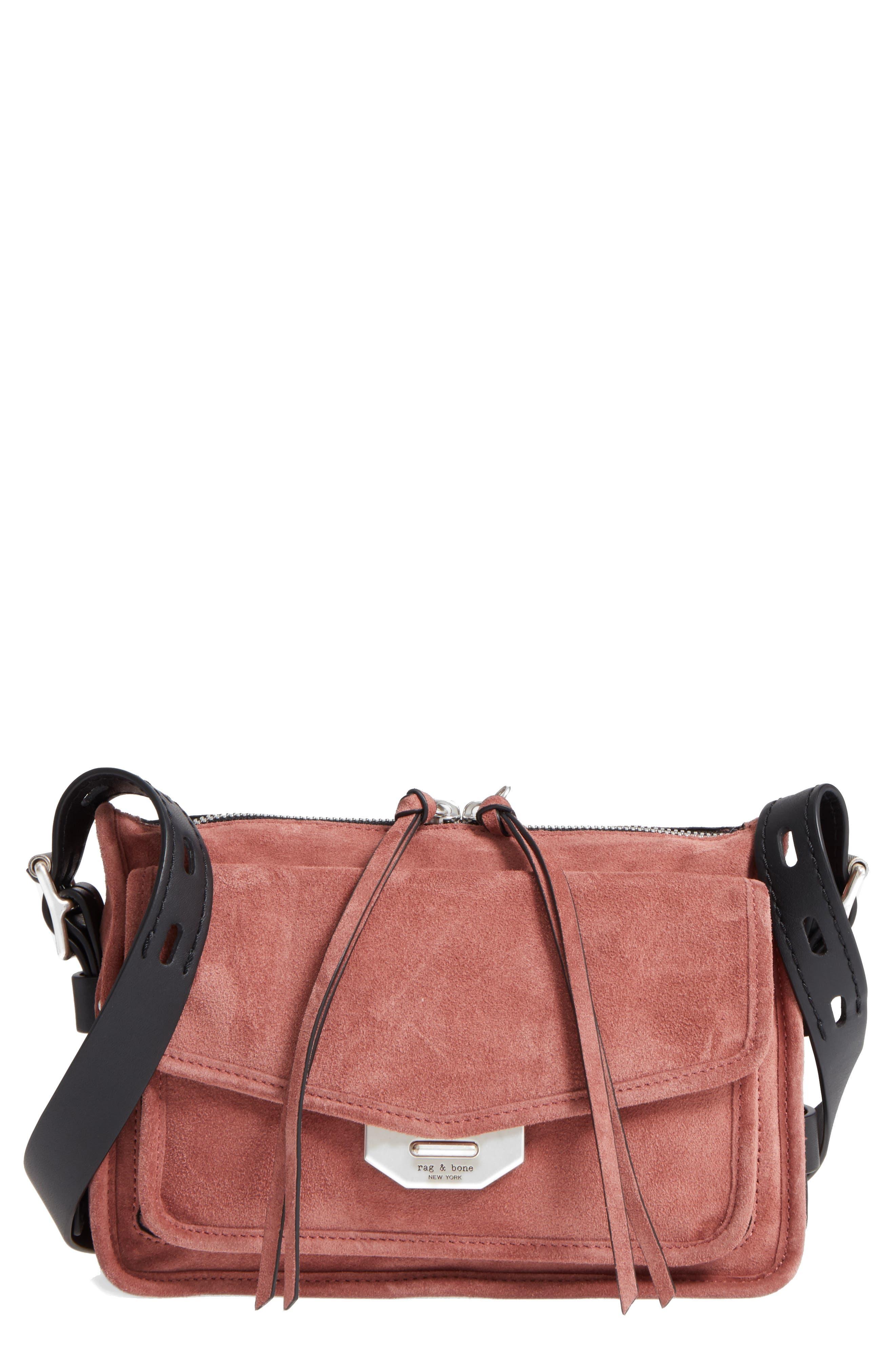 Alternate Image 1 Selected - rag & bone Small Leather Field Messenger Bag