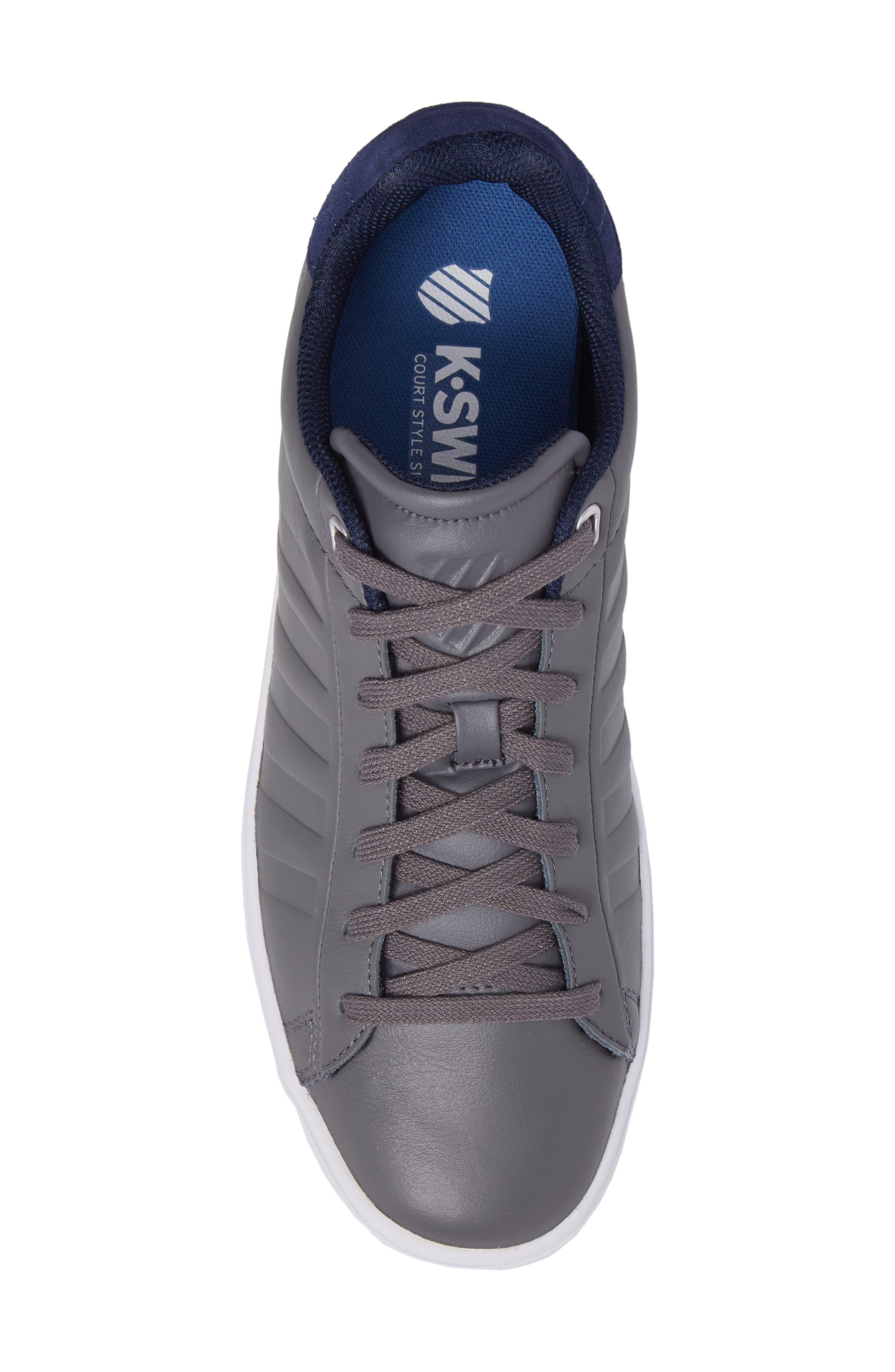 Court Frasco Sneaker,                             Alternate thumbnail 5, color,                             Pewter/ Patriot Blue