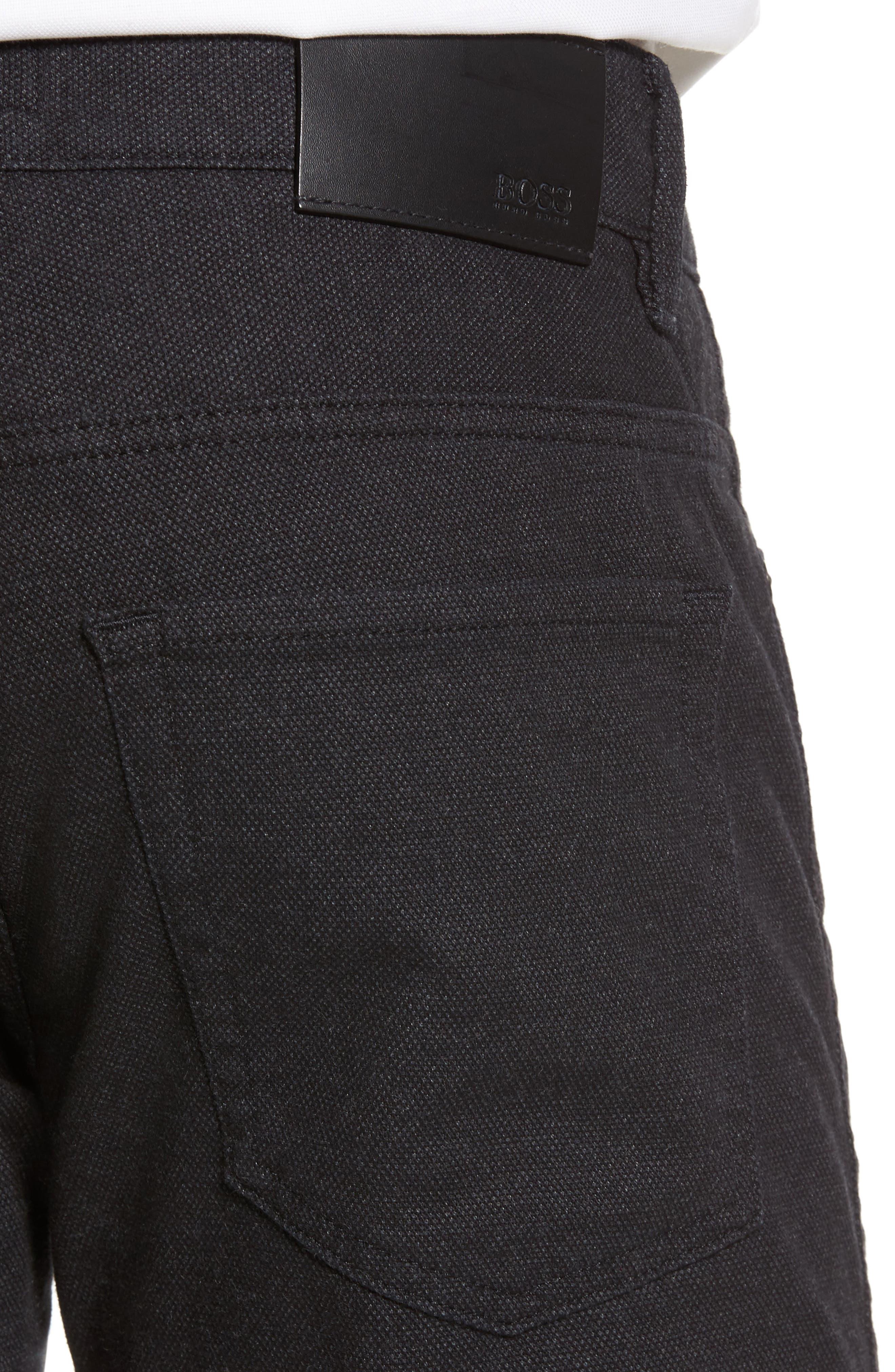 Alternate Image 4  - BOSS Delaware Slim 5-Pocket Pants