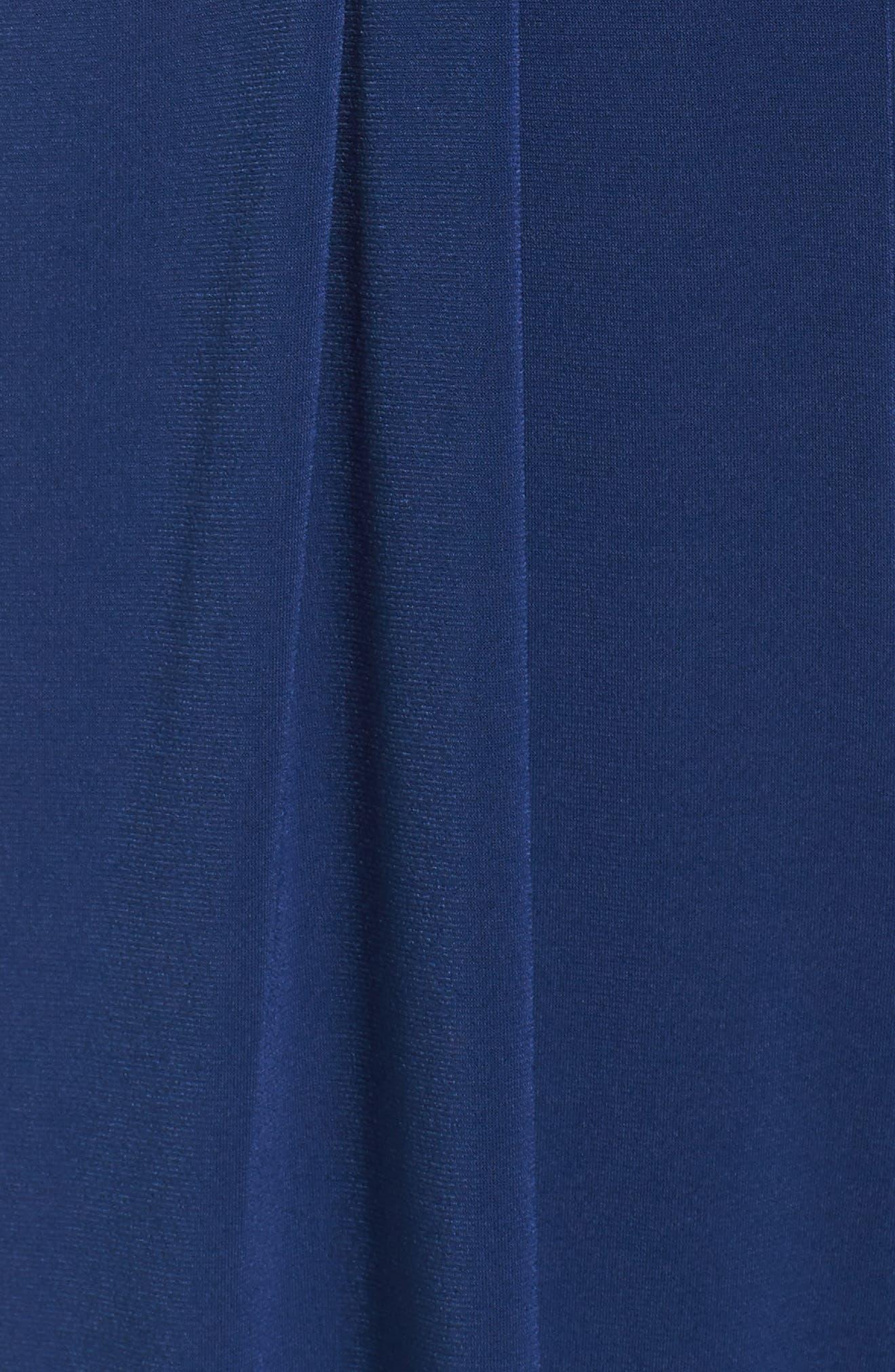 Alternate Image 5  - Vince Camuto Faux Wrap Jersey Jumpsuit (Regular & Petite)