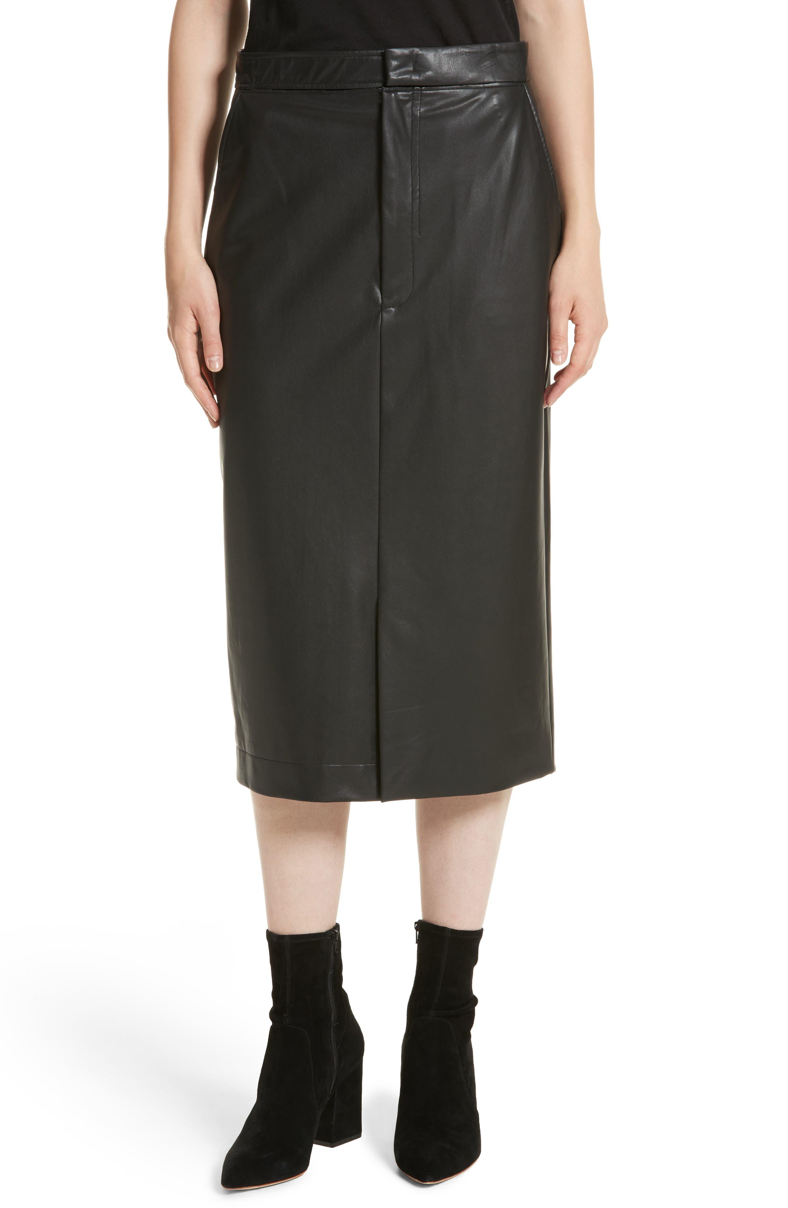 Main Image - JOSEPH Keller Feather Sky Skirt