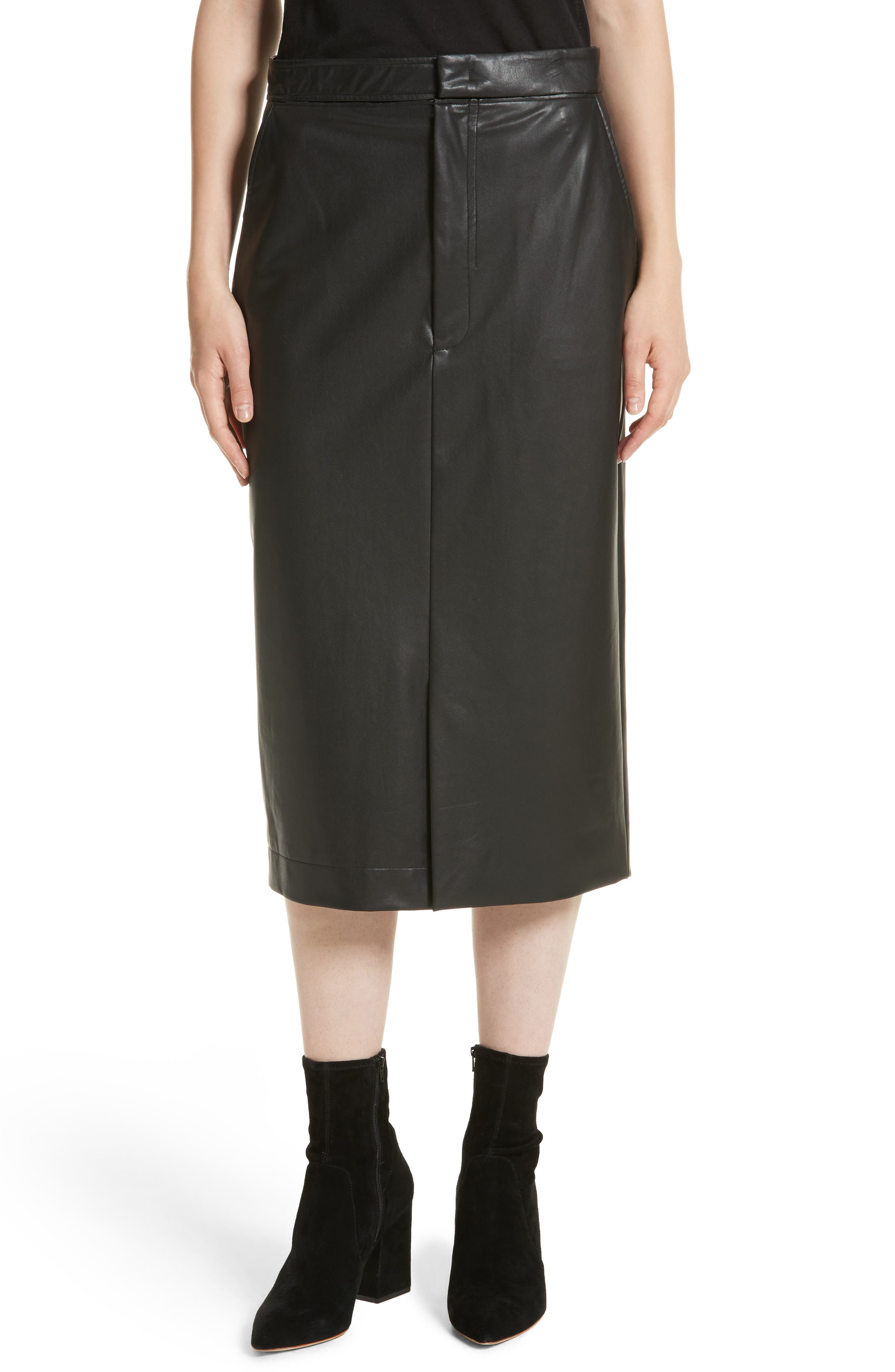 Keller Feather Sky Skirt,                         Main,                         color, Black