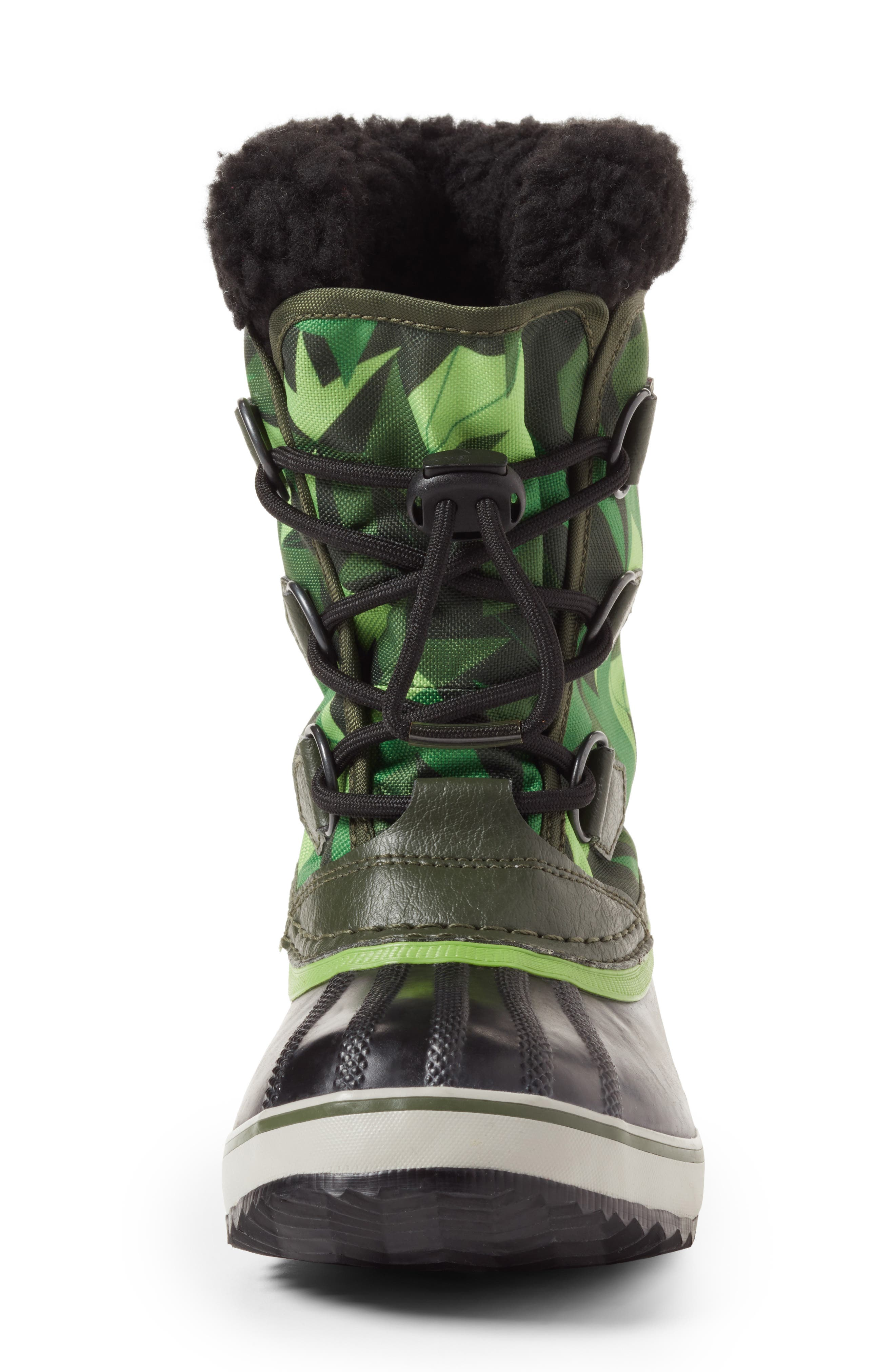Yoot Pac Waterproof Insulated Snow Boot,                             Alternate thumbnail 5, color,                             Surplus Green/ Green Mamba