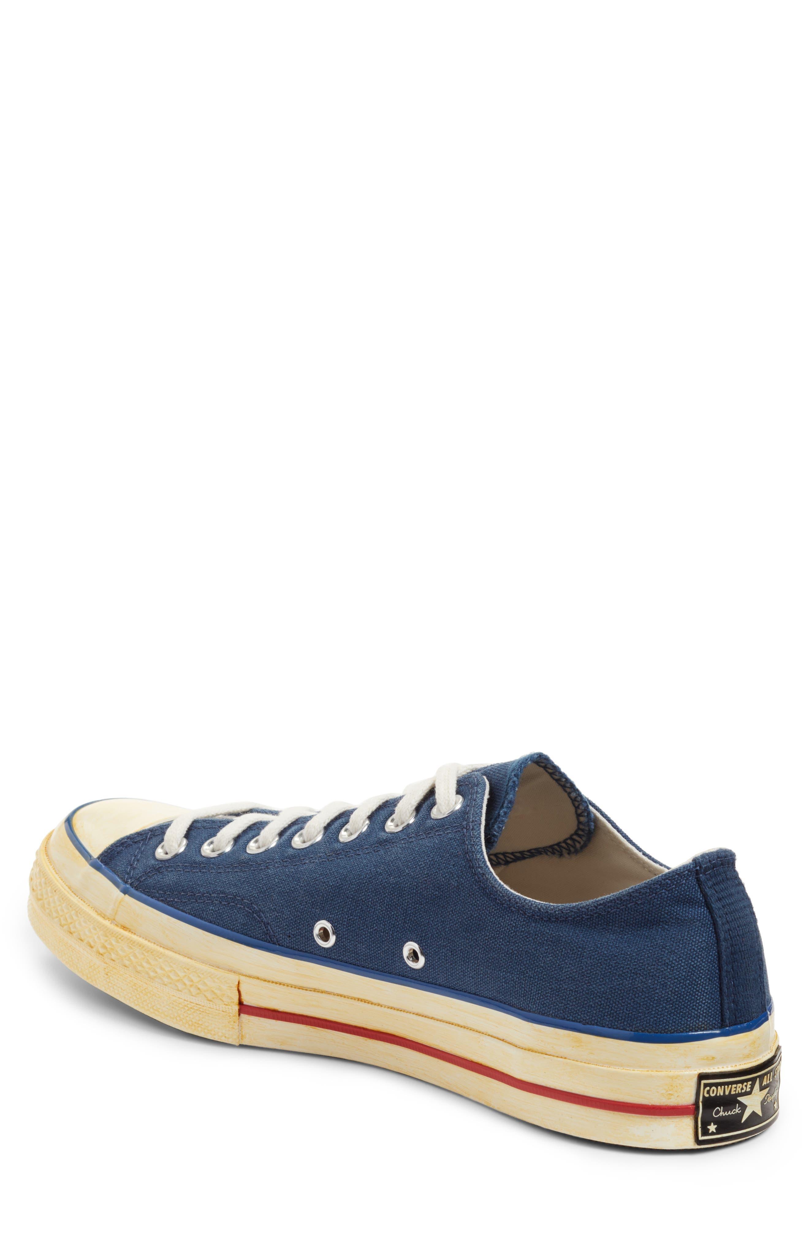Alternate Image 2  - Converse Chuck Taylor® All Star® 70 Low Top Sneaker (Men)