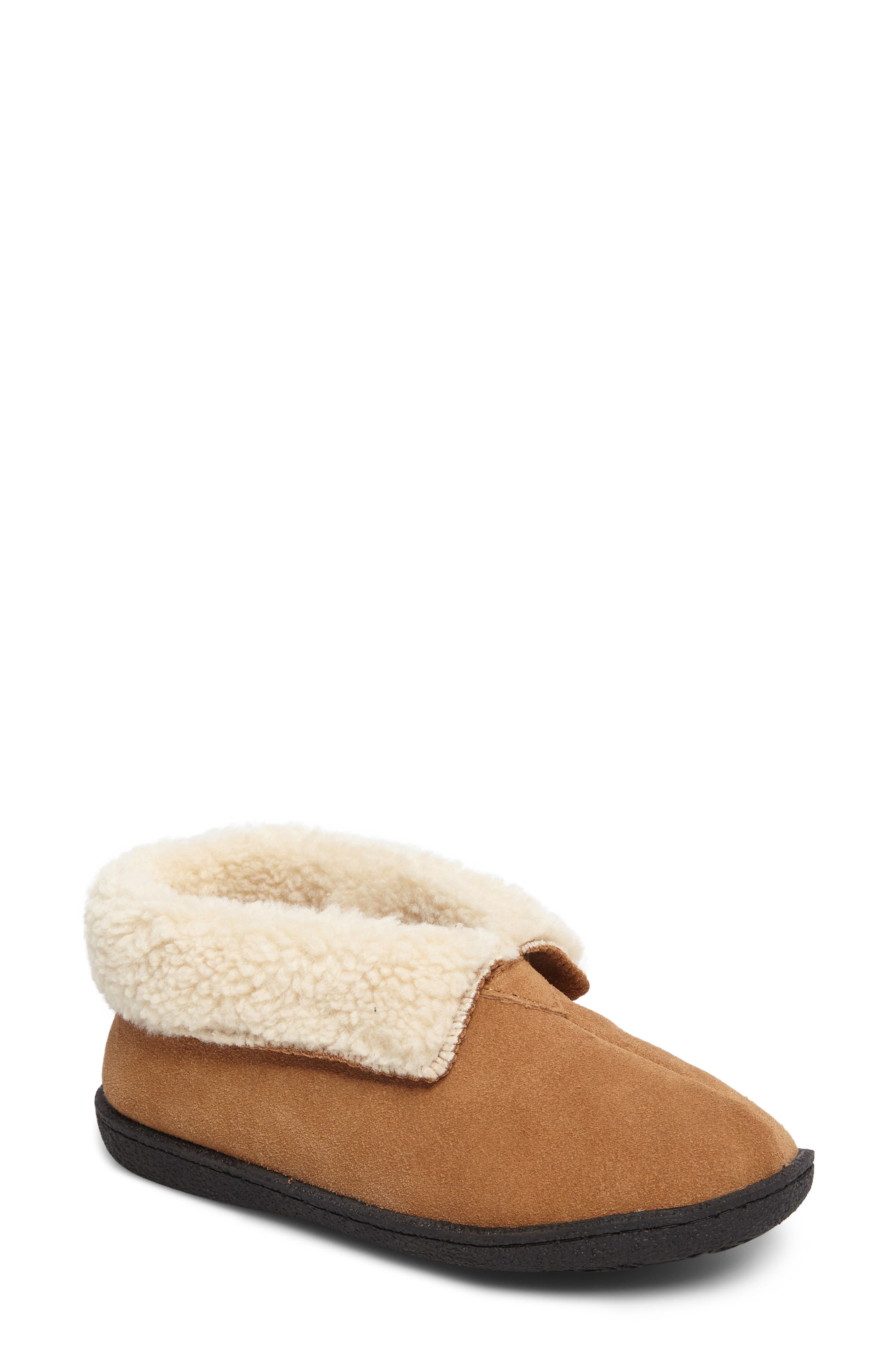 Lodge II Slipper,                             Main thumbnail 1, color,                             Chestnut