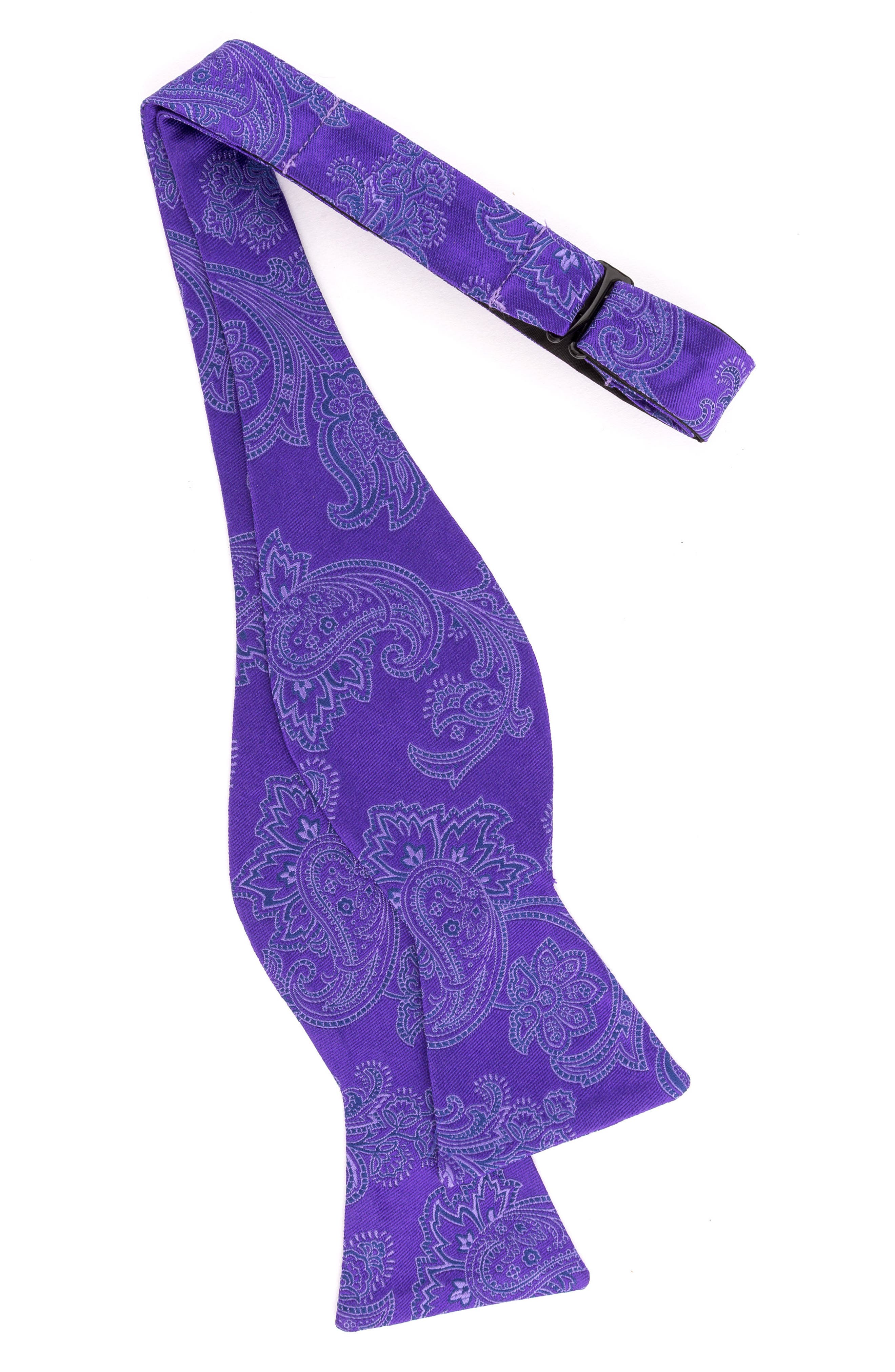 Alternate Image 2  - Ted Baker London Downtown Paisley Silk Bow Tie