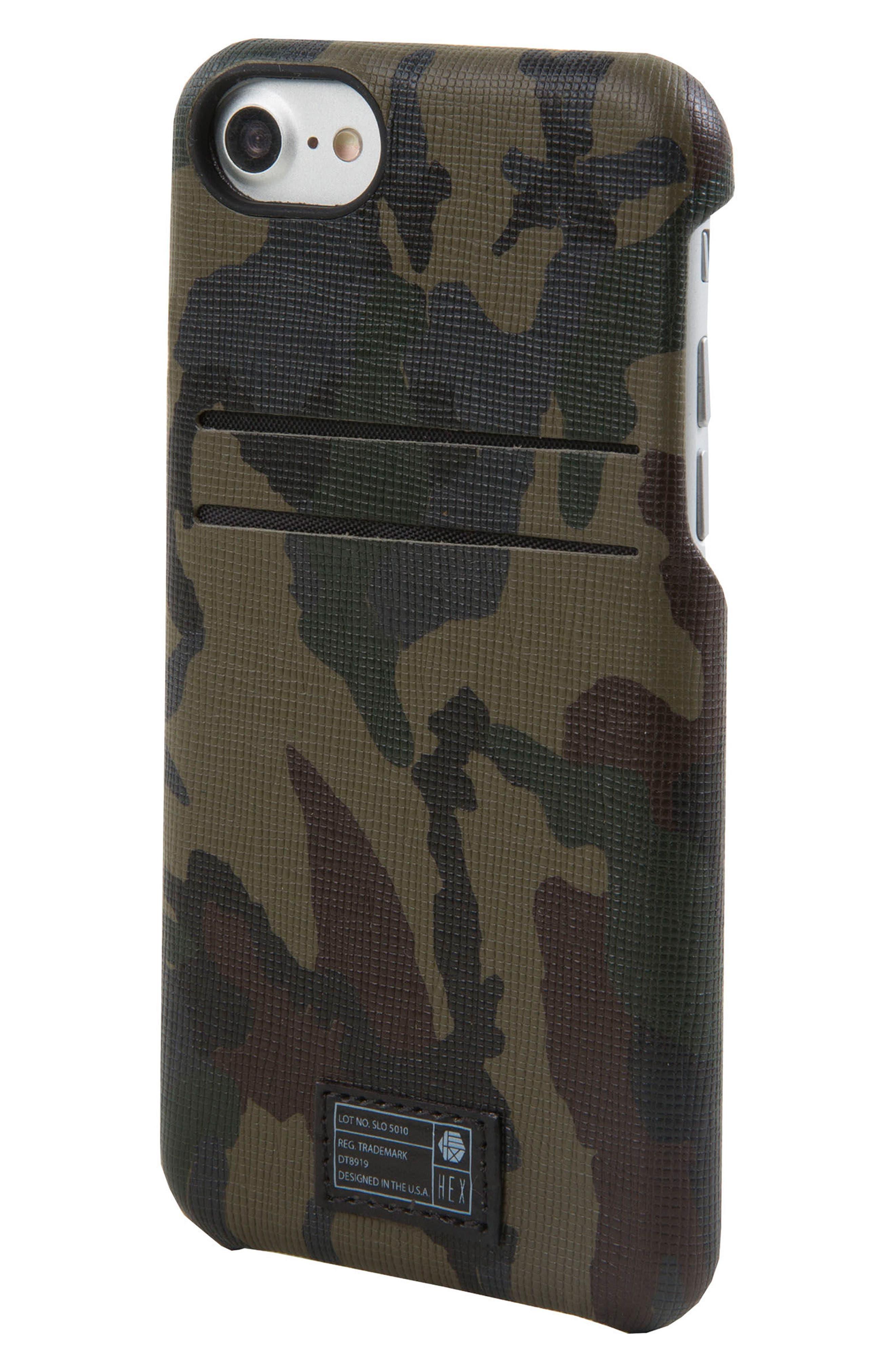 HEX Solo iPhone 6/6s/7/8 Wallet Case