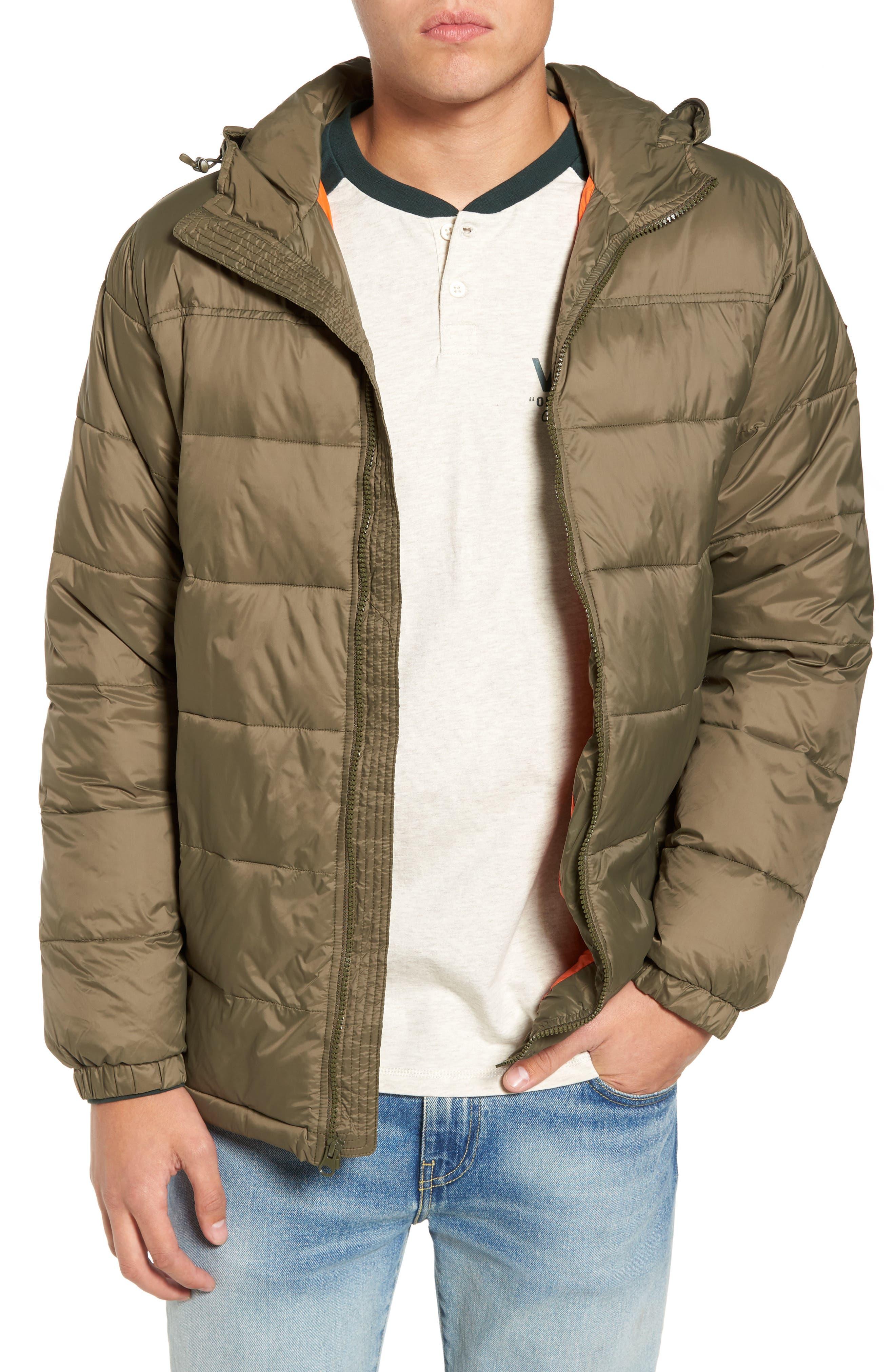 Woodcrest MTE Water Repellent Jacket,                         Main,                         color, Grape Leaf