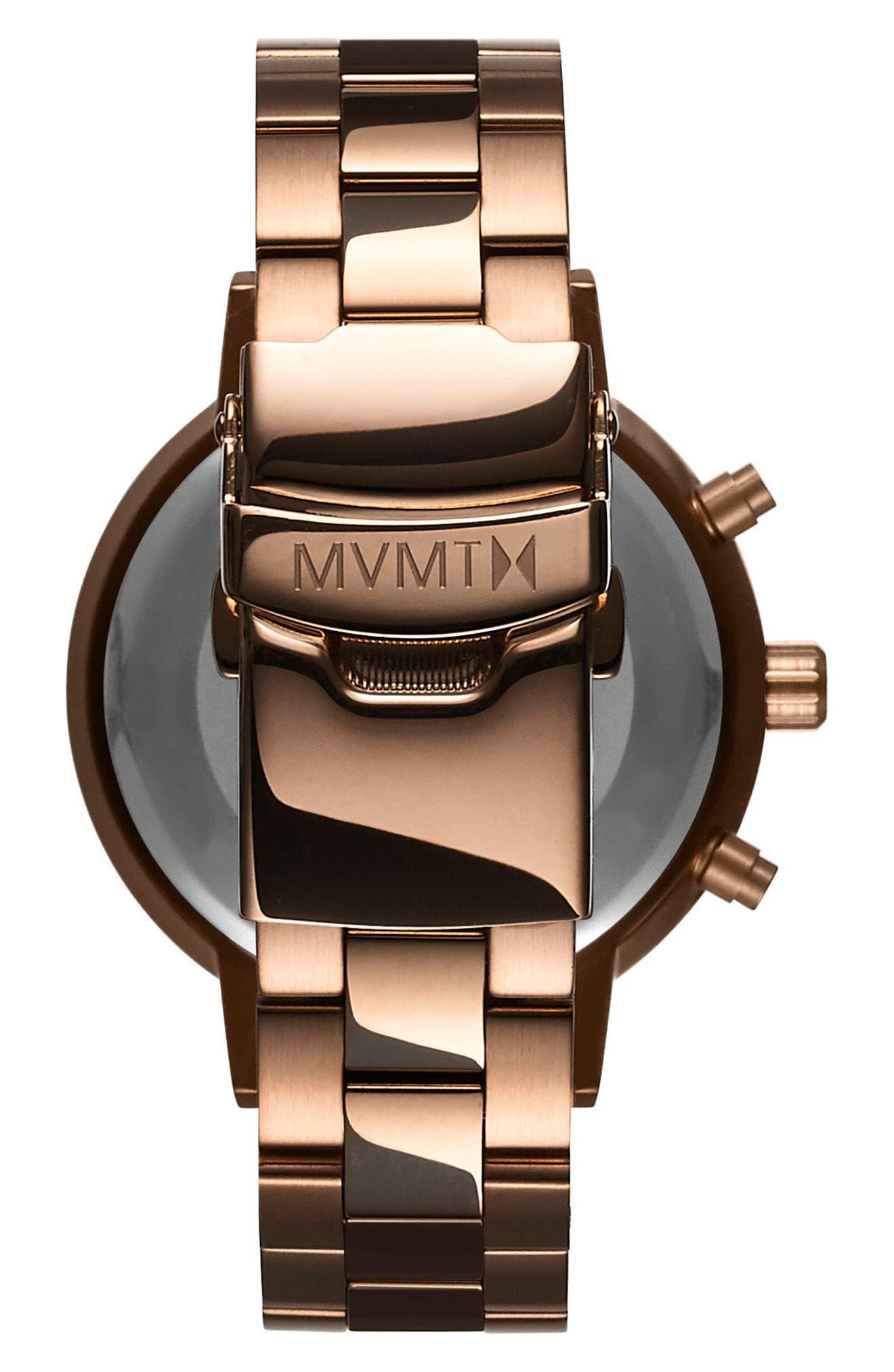 Nova Chronograph Bracelet Watch, 38mm,                             Alternate thumbnail 2, color,                             Rose Gold