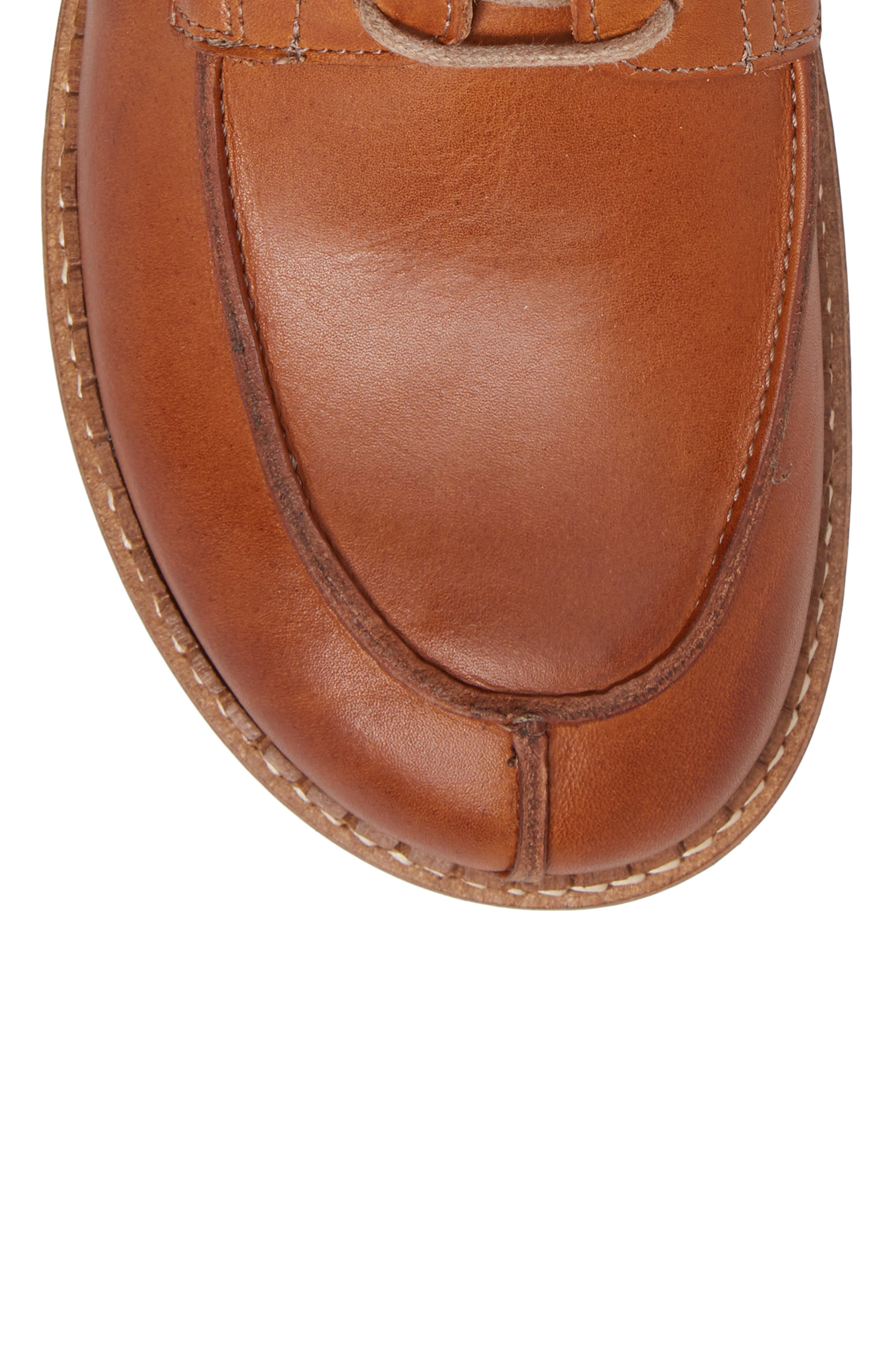 Timmins Split Toe Boot,                             Alternate thumbnail 5, color,                             Cuoio