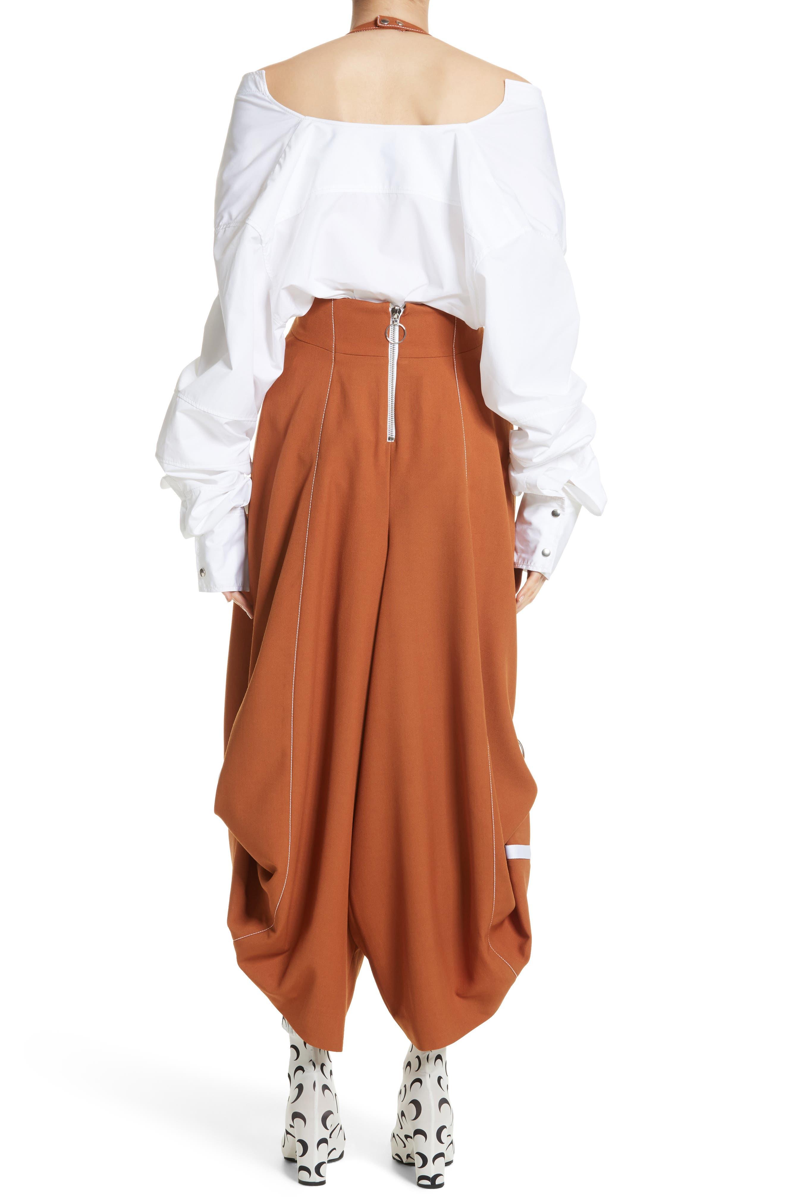 Wool Jumpsuit,                             Alternate thumbnail 2, color,                             Brown