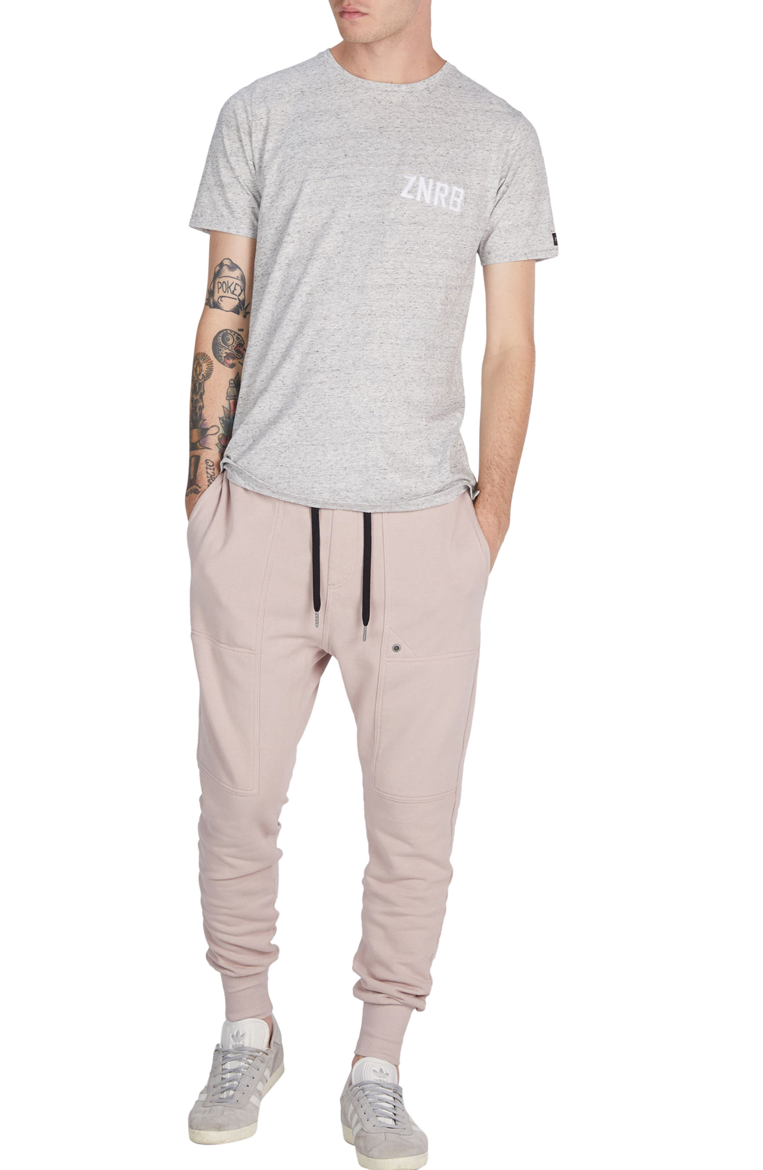 Alternate Image 5  - ZANEROBE Blockshot Fleece Jogger Pants