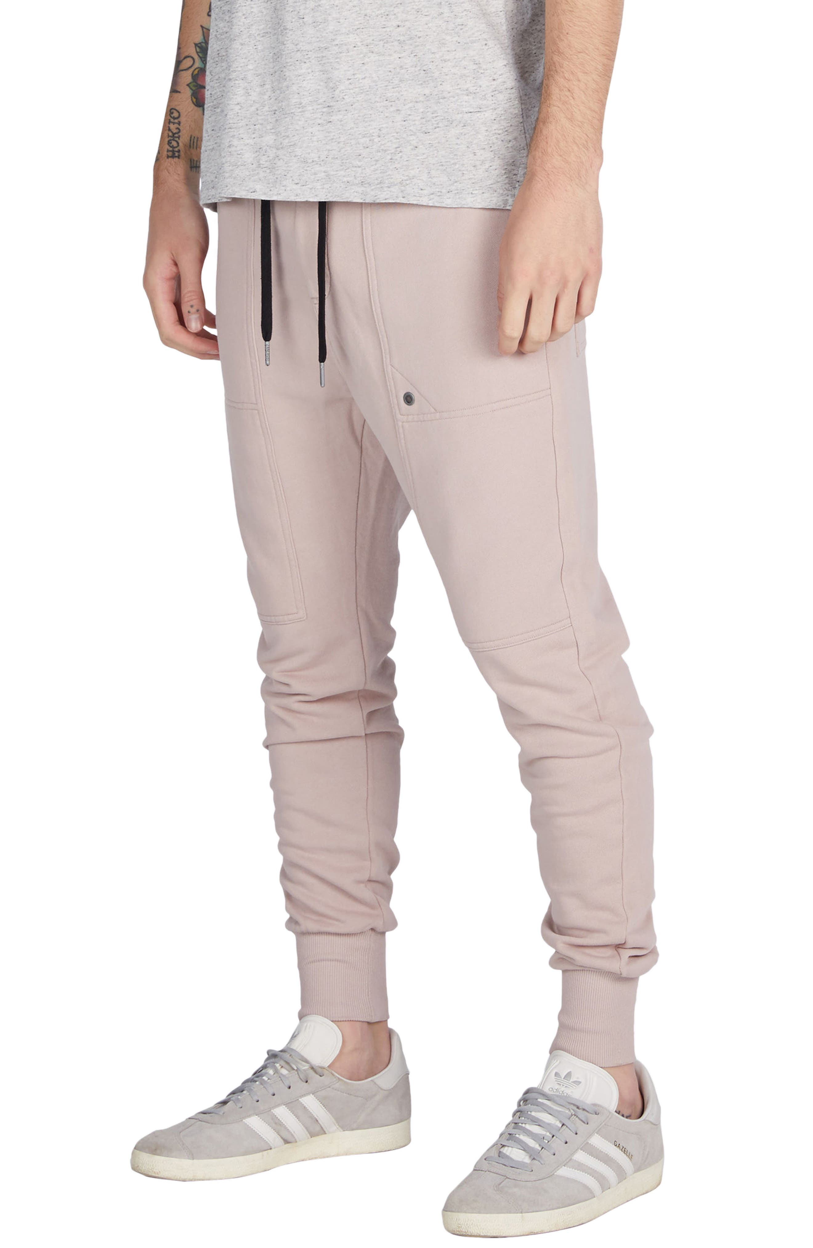 Alternate Image 4  - ZANEROBE Blockshot Fleece Jogger Pants
