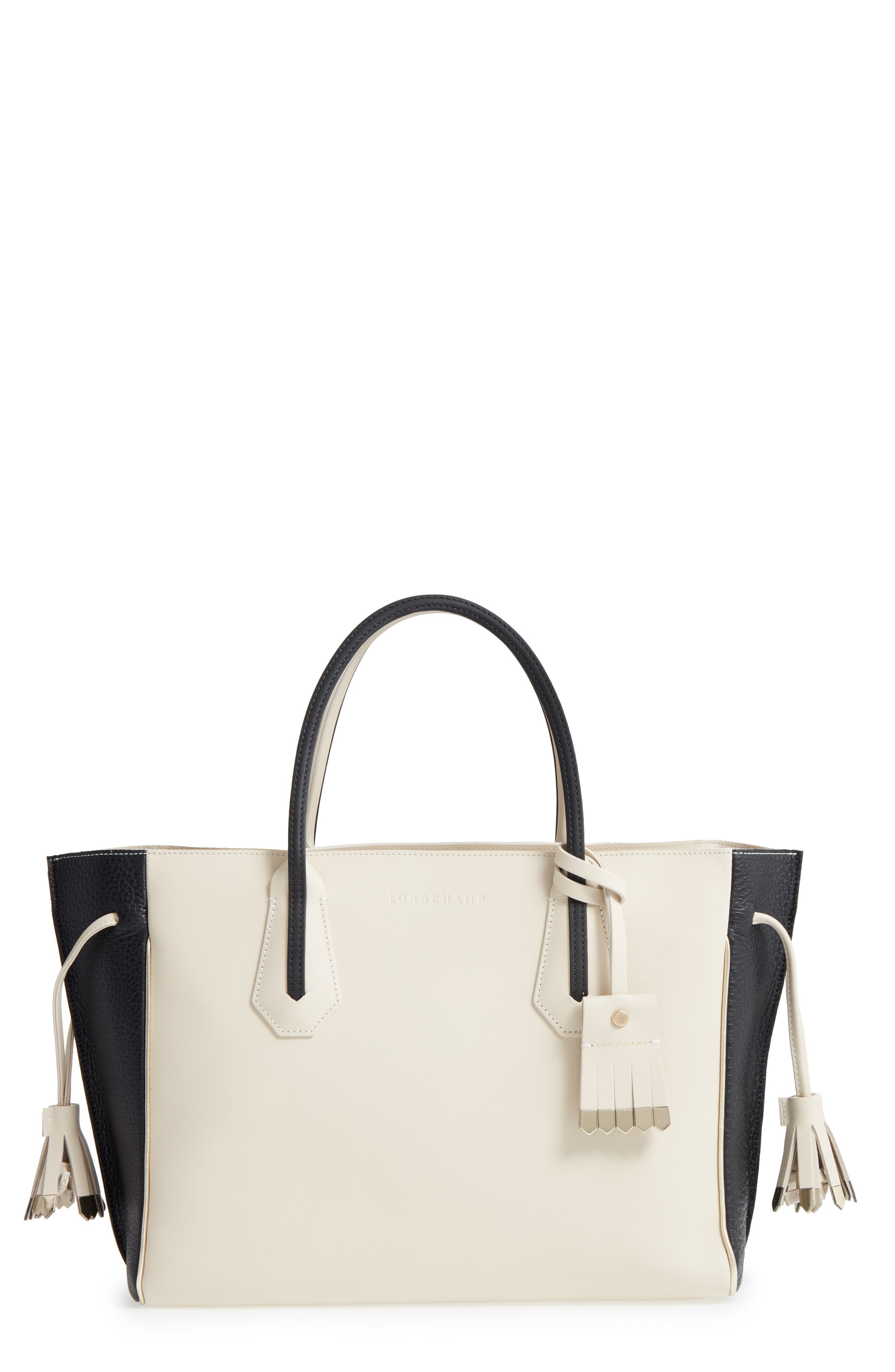 Alternate Image 1 Selected - Longchamp Medium Penelope Fantasie Luxe Leather Tote