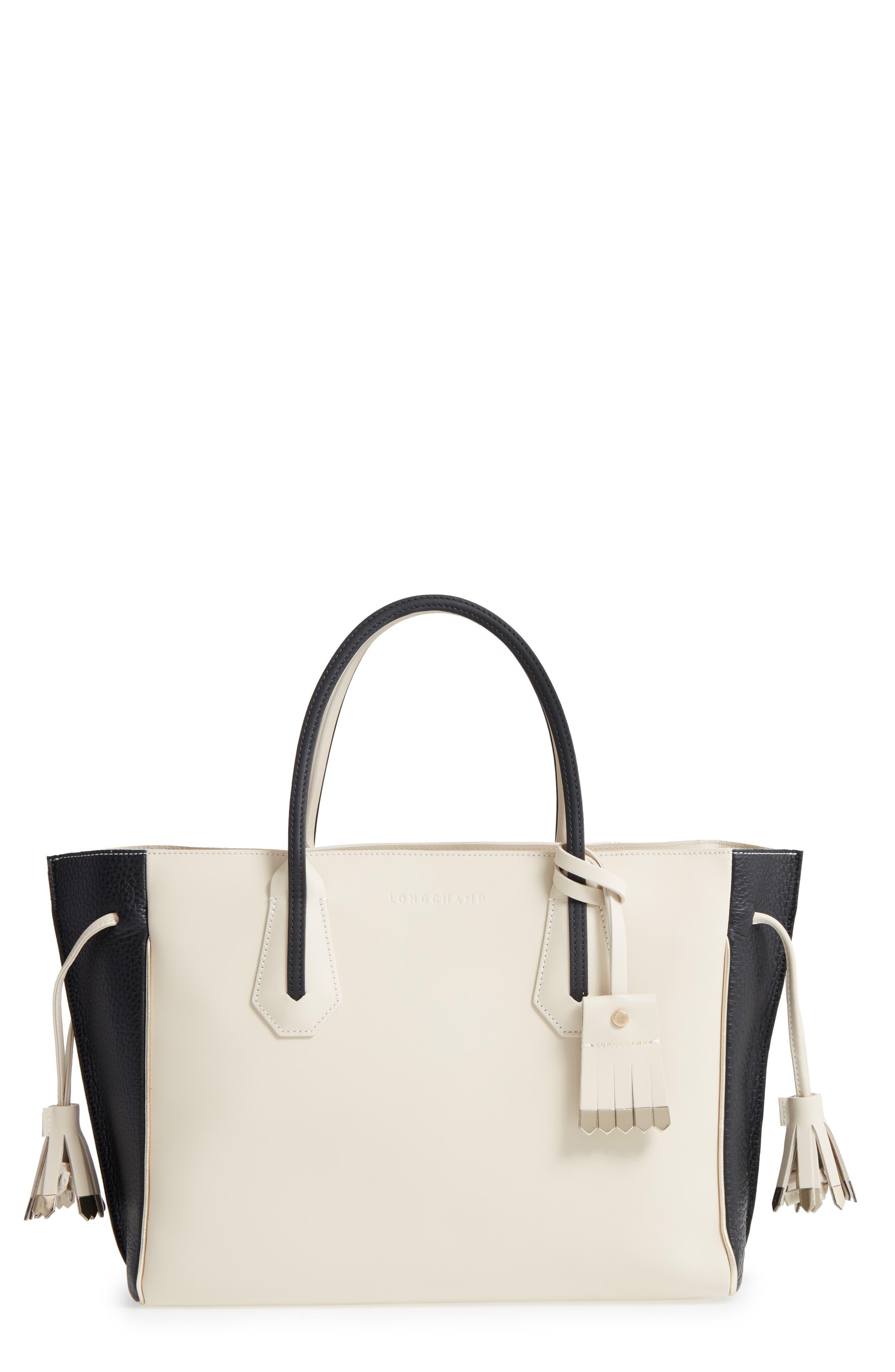 Main Image - Longchamp Medium Penelope Fantasie Luxe Leather Tote