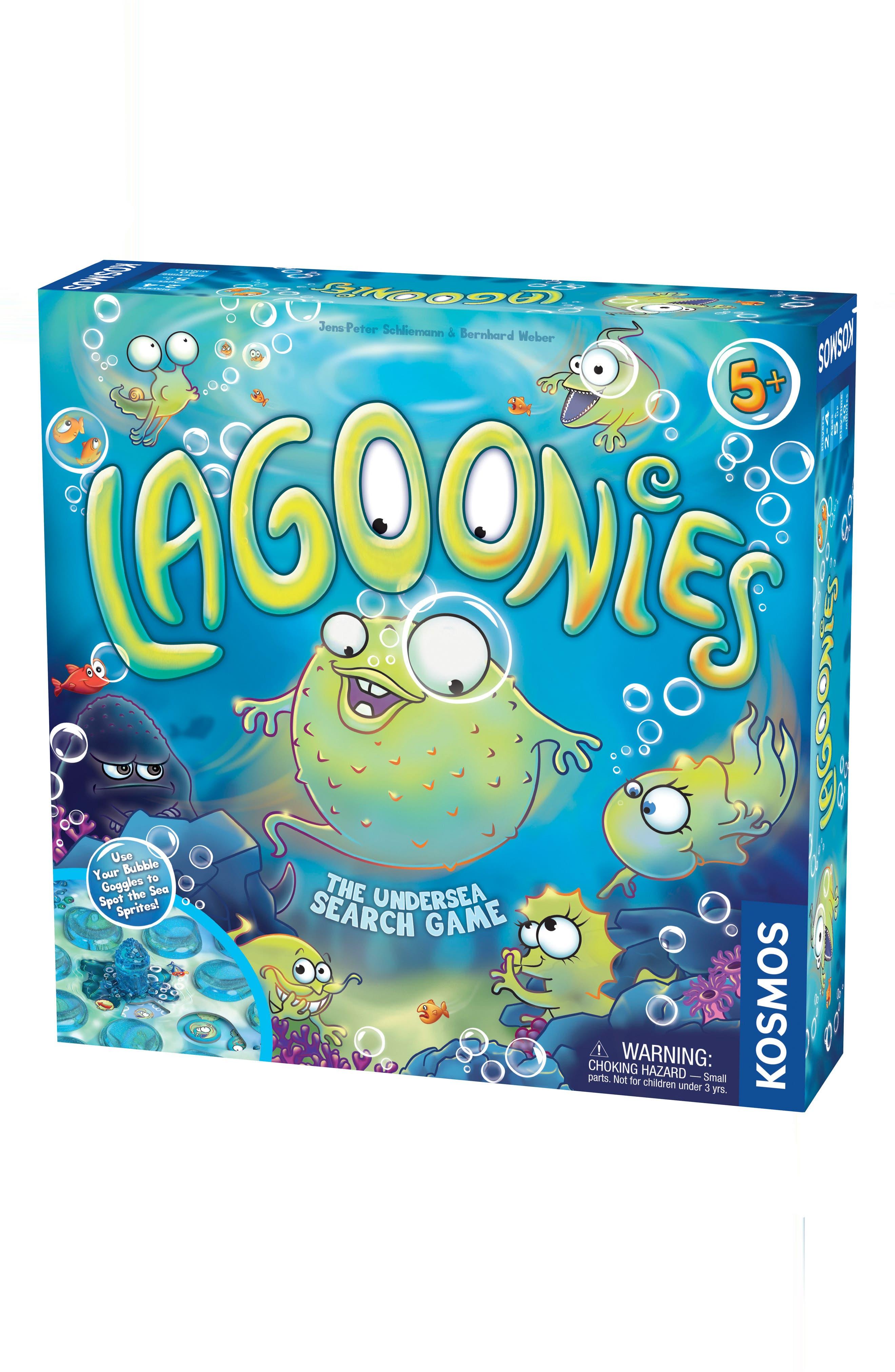 Lagoonies Board Game,                         Main,                         color, Multi