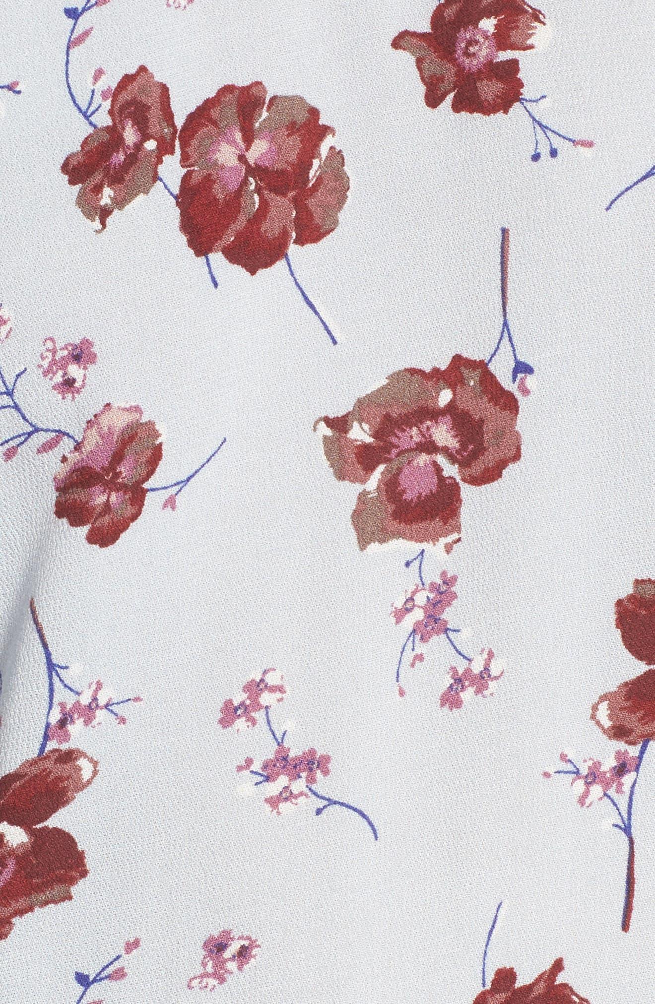Alternate Image 5  - BP. Floral Print Ruffle Blouse