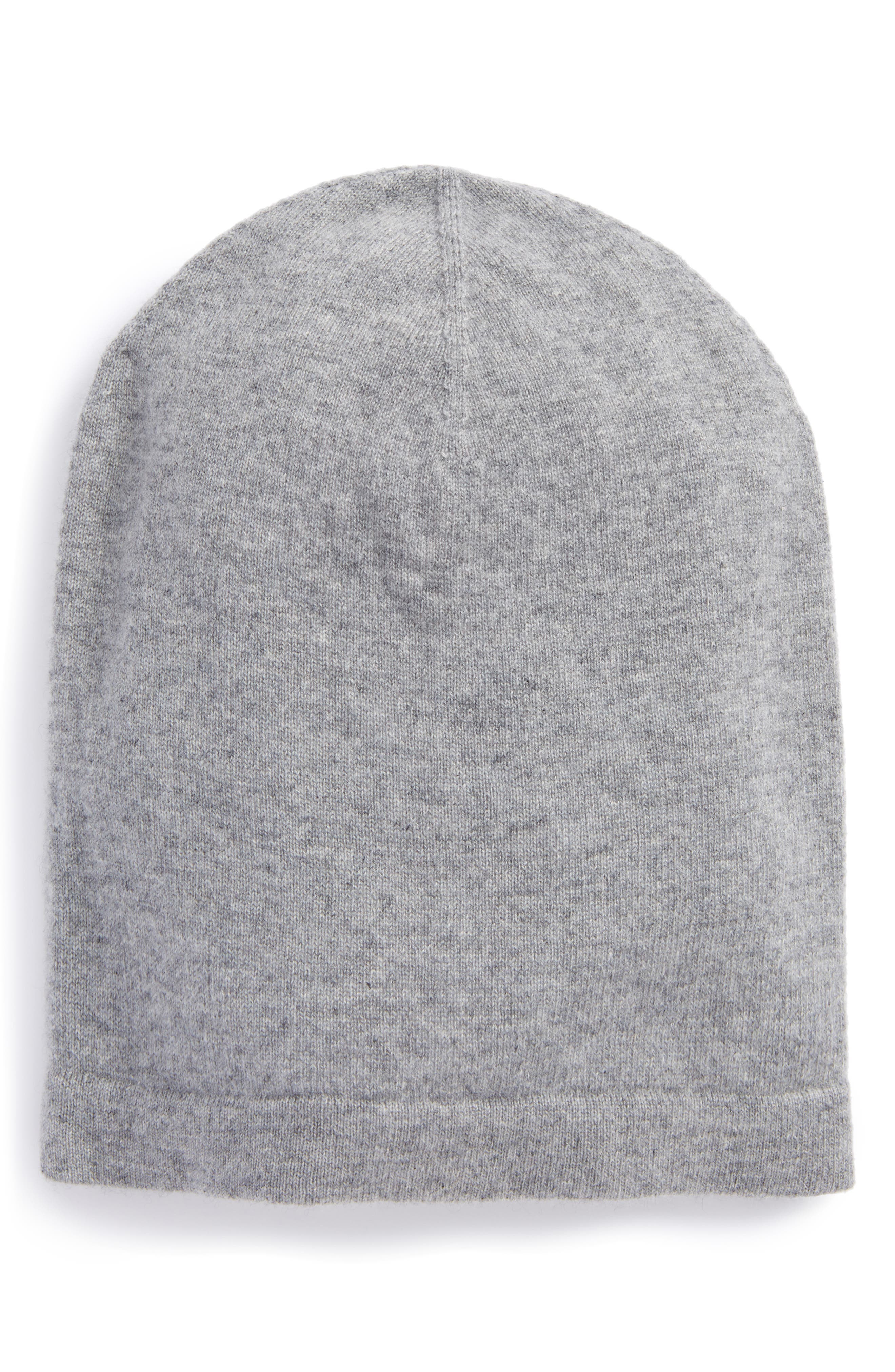Alternate Image 1 Selected - Nordstrom Men's Shop Cashmere Beanie