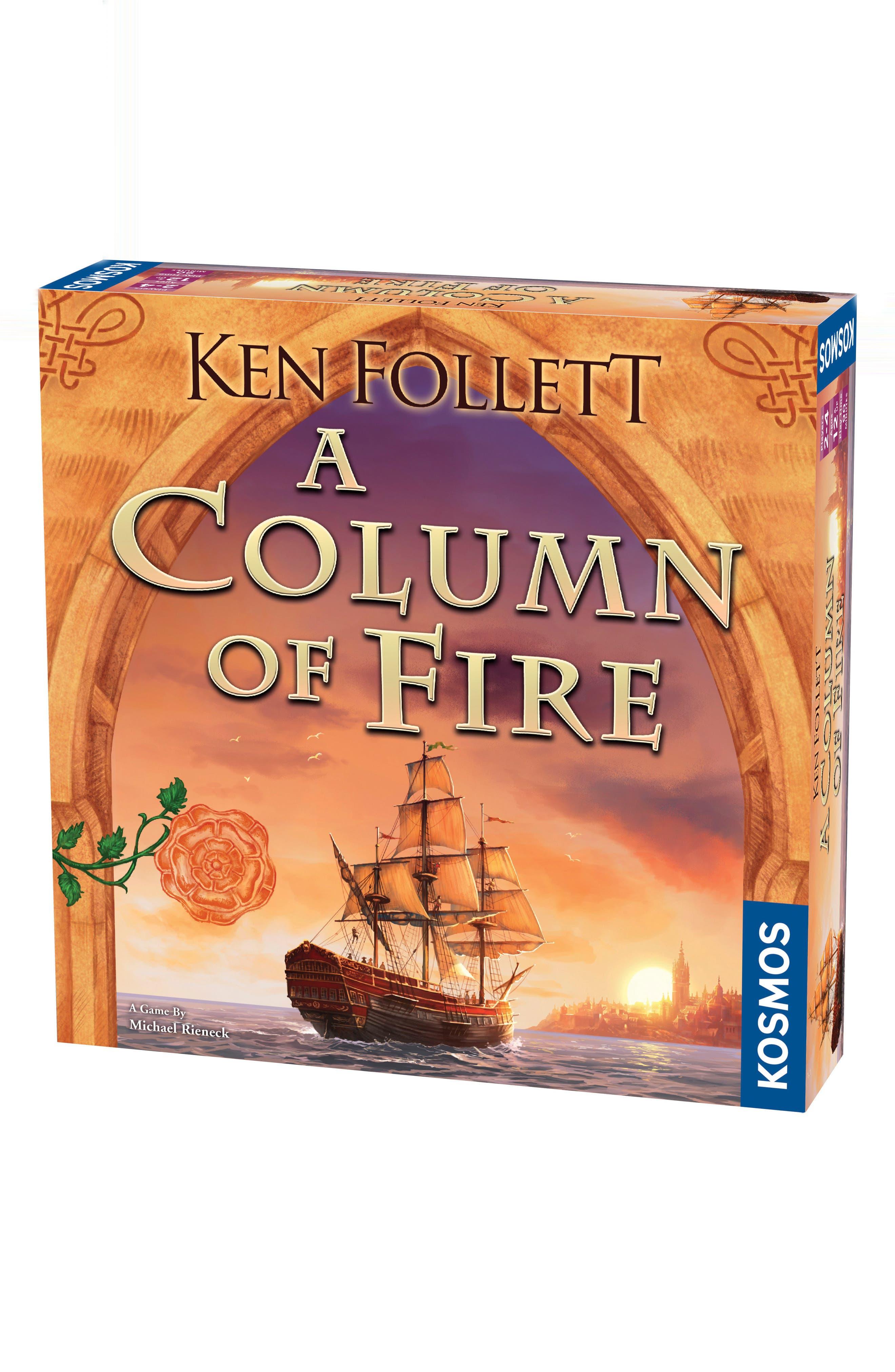 - A Column of Fire Game,                         Main,                         color, Multi
