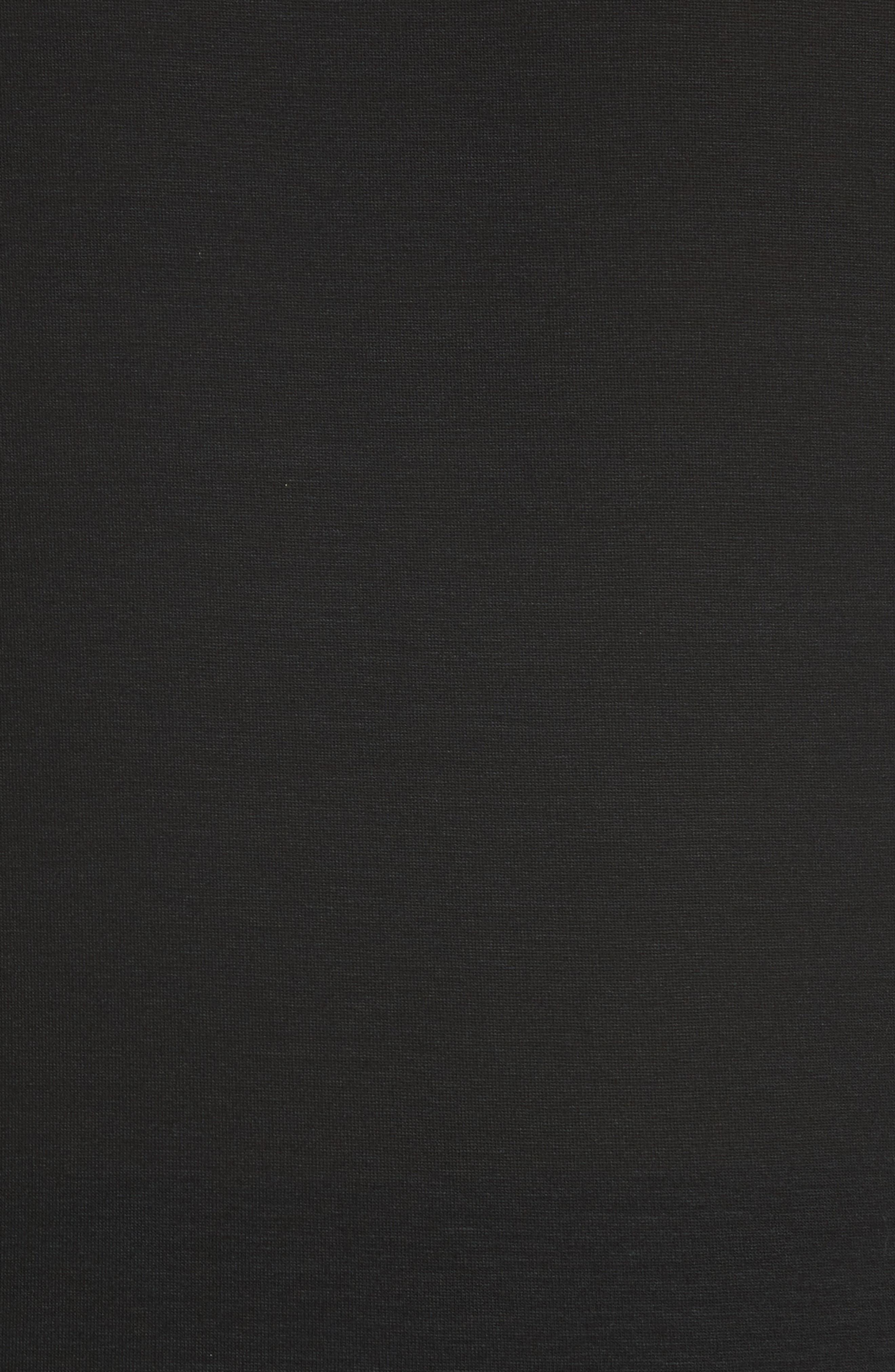 Piovra Jersey Tee,                             Alternate thumbnail 5, color,                             Black