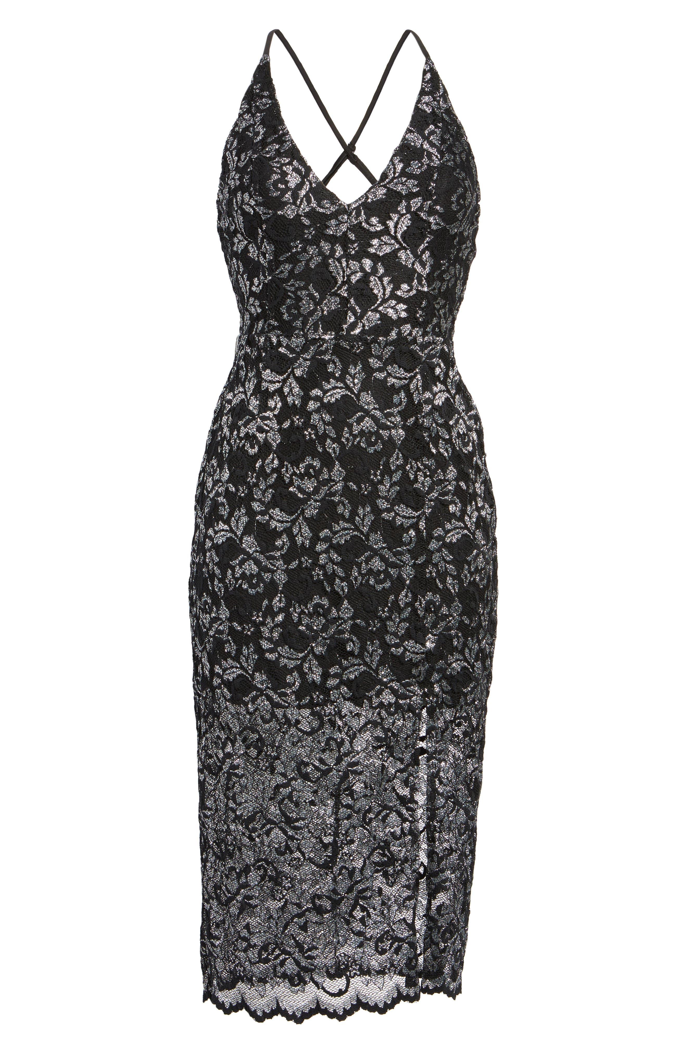 Alternate Image 6  - NBD Sitabella Lace Dress