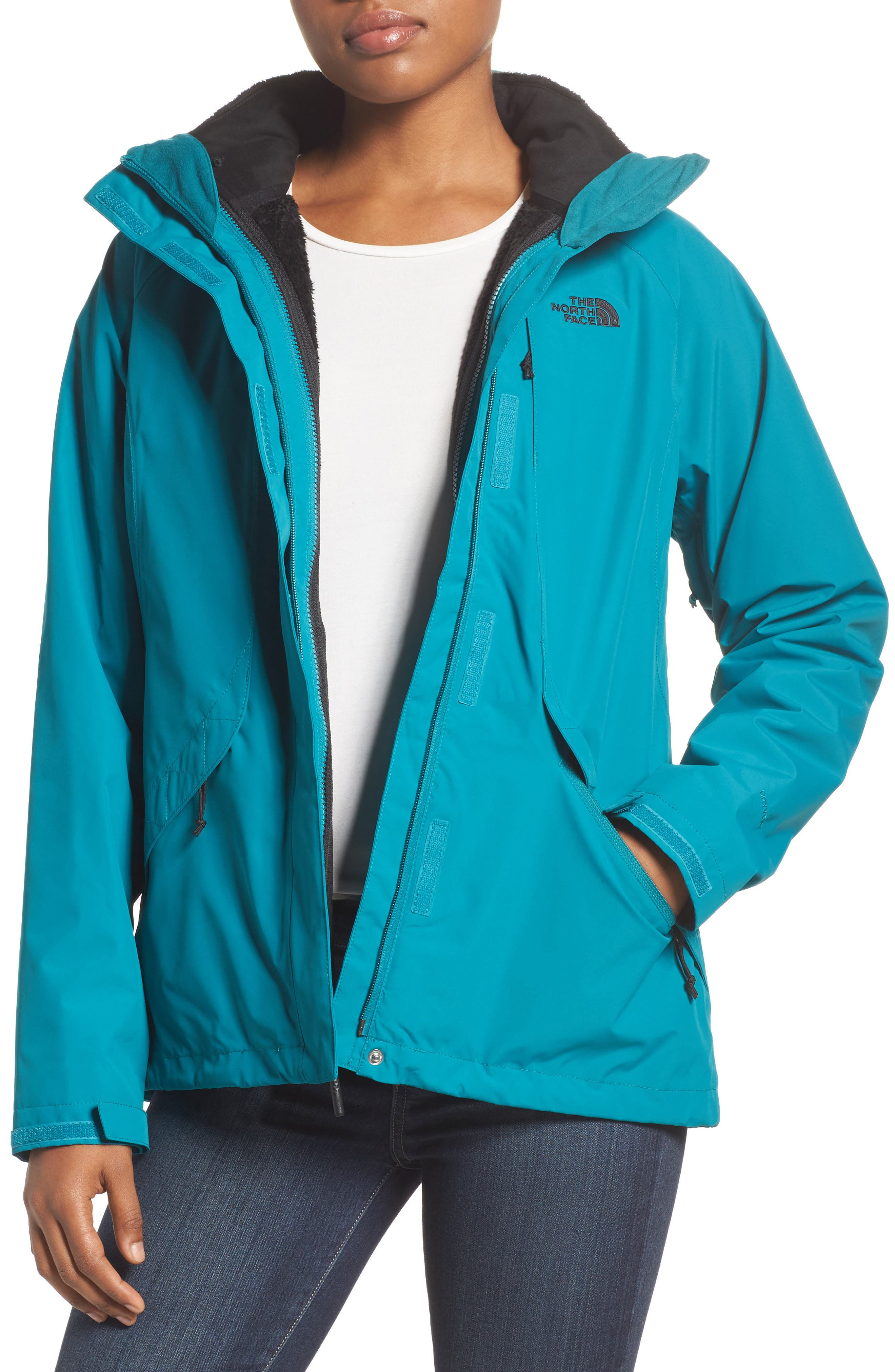 Boundary Triclimate<sup>®</sup> 3-in-1 Jacket,                         Main,                         color, Harbor Blue