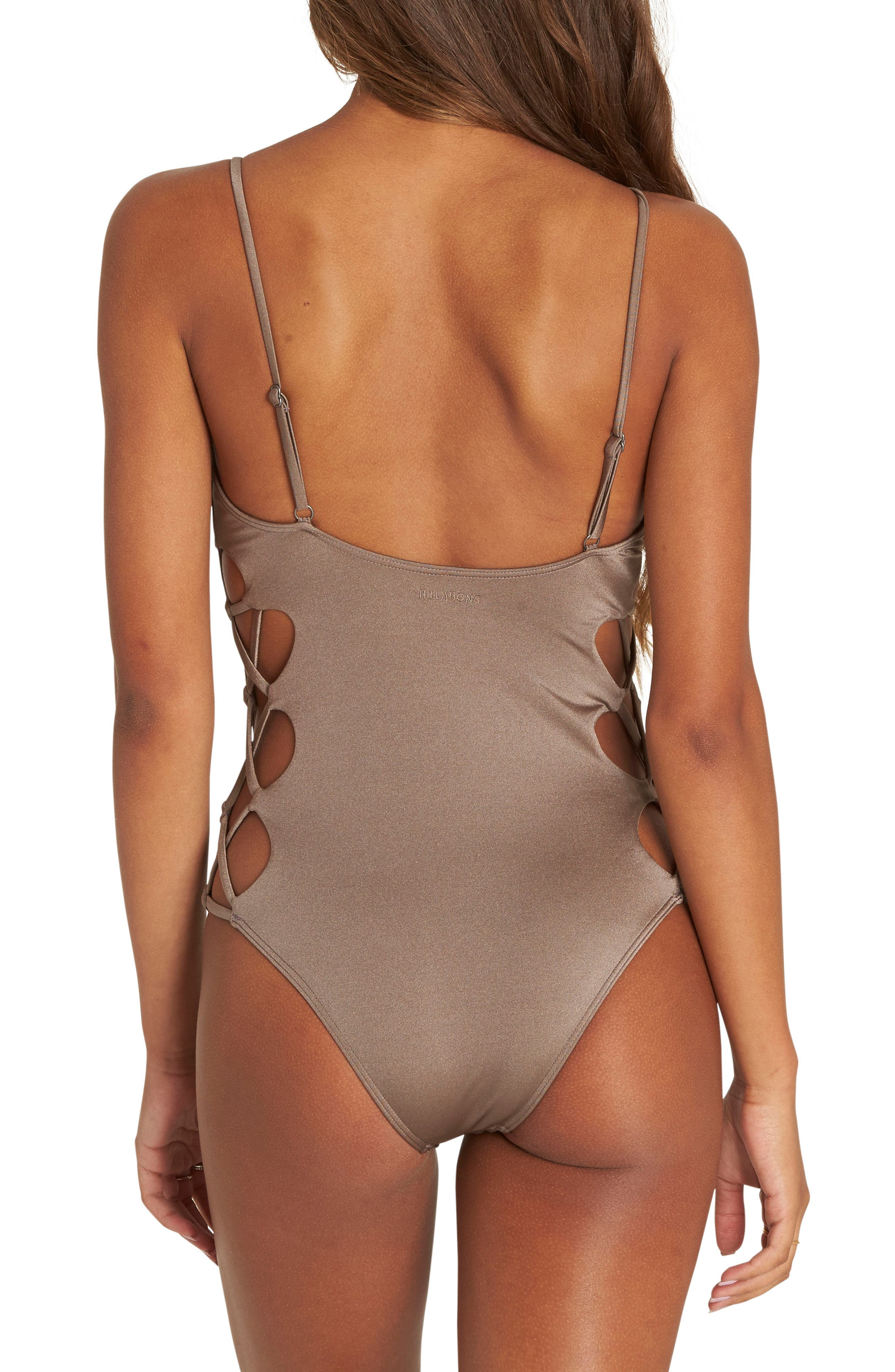 Alternate Image 2  - Billabong Sol Searcher One-Piece Swimsuit