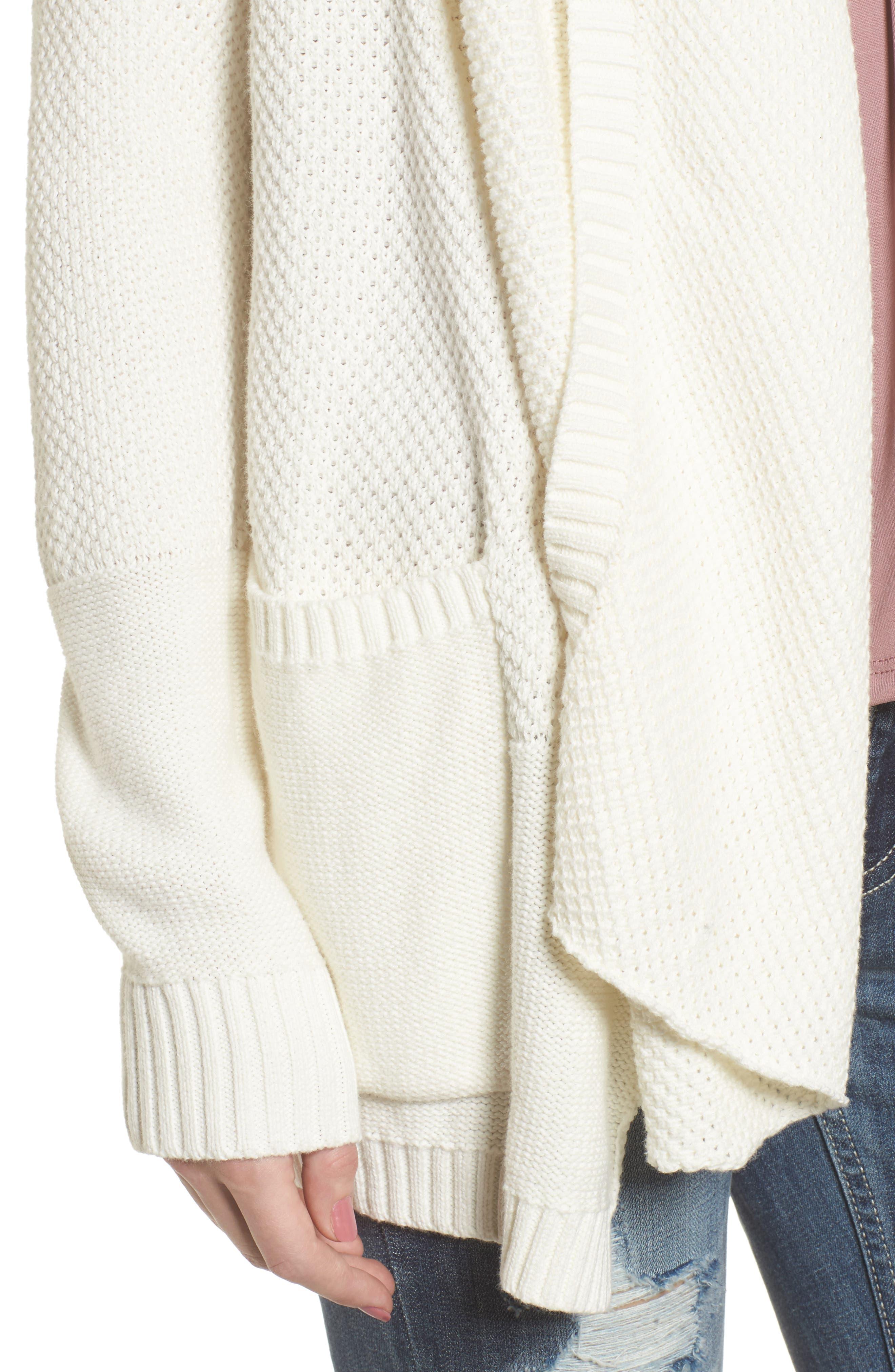 Alternate Image 4  - Rip Curl Brunswick Cotton Cardigan