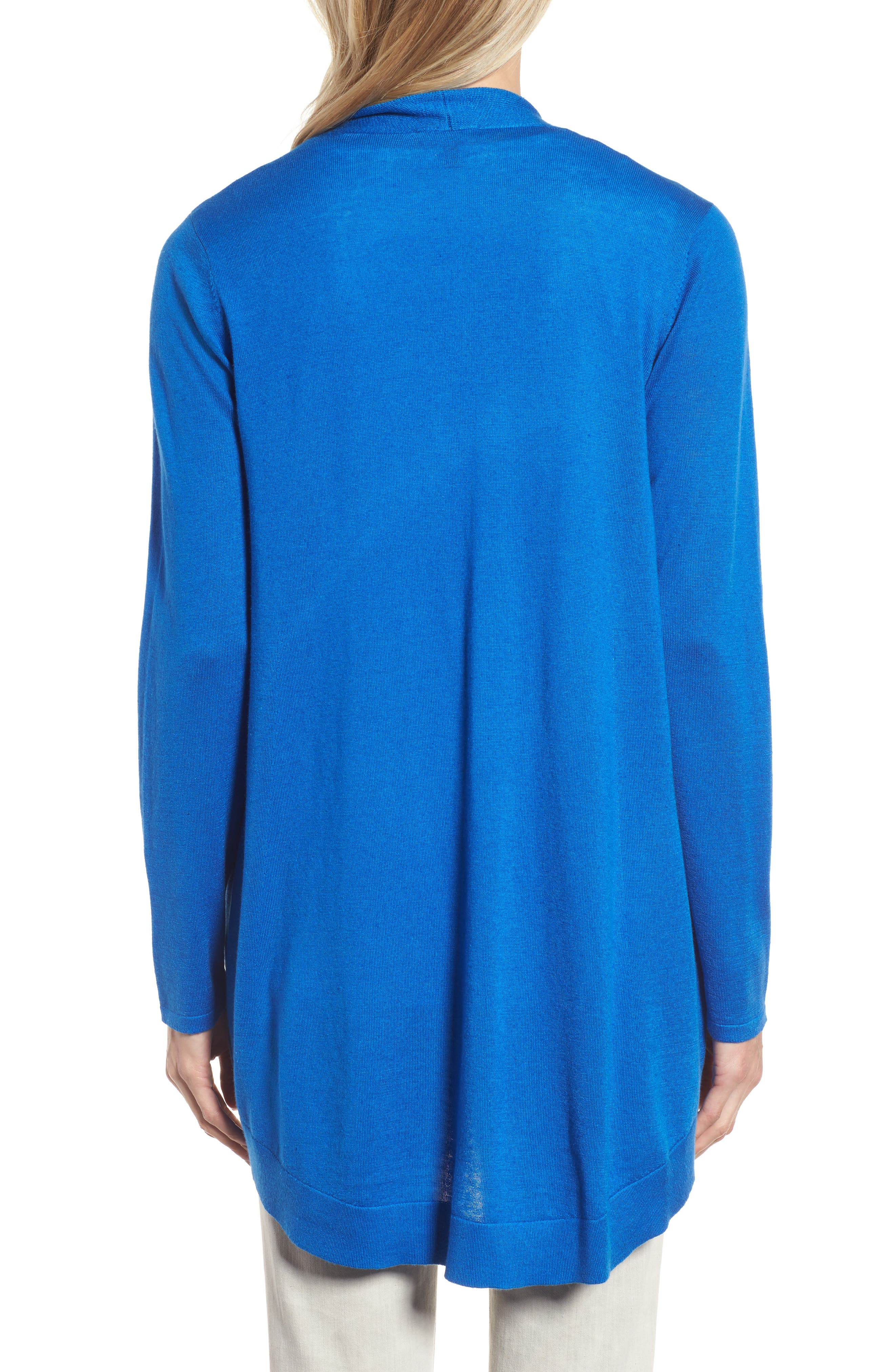 Alternate Image 2  - Eileen Fisher Shaped Tencel® Blend Cardigan