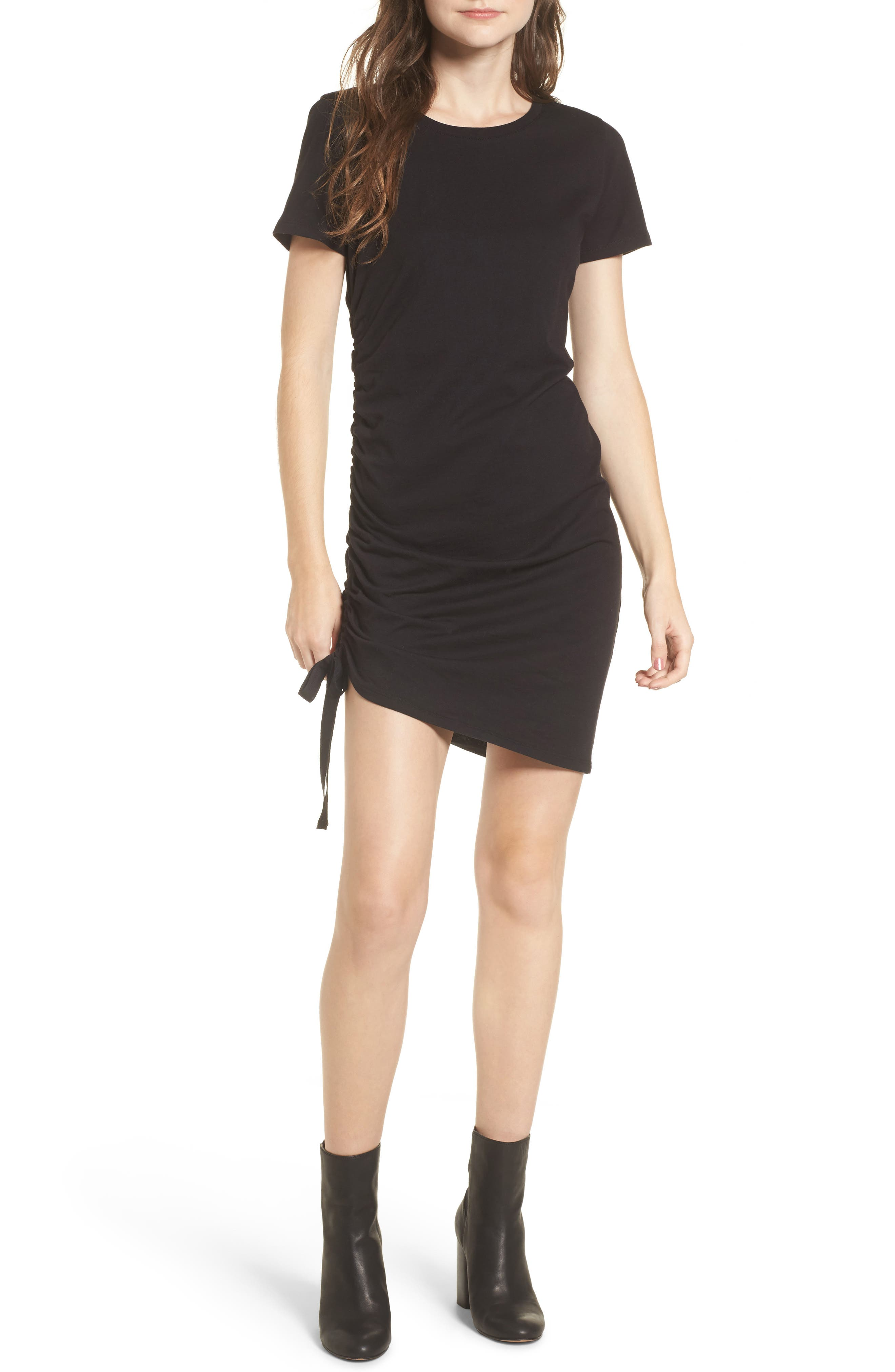 BP. Side Cinch Cotton Dress