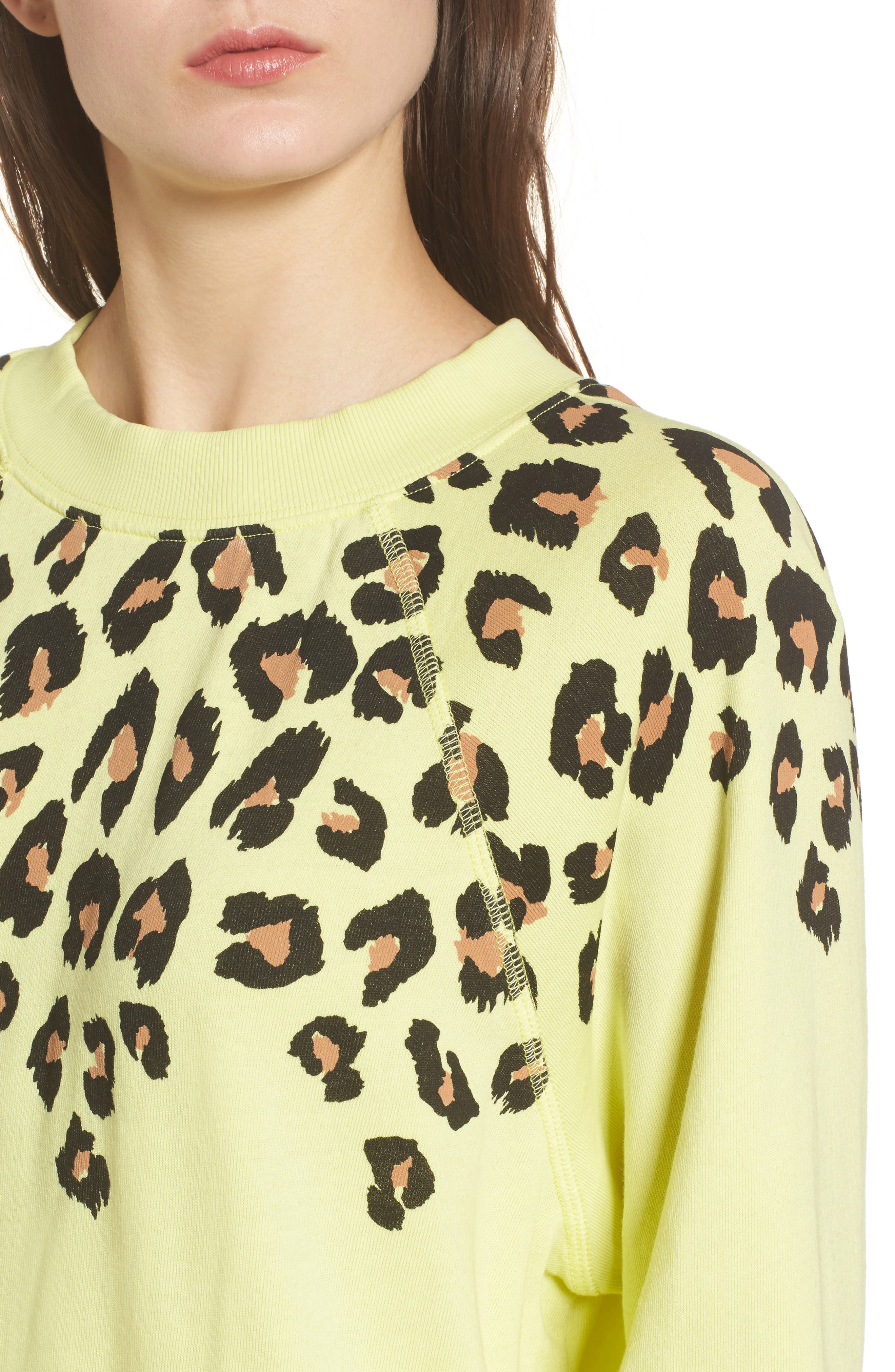 Alternate Image 4  - Wildfox Animal Instinct - Sommers Sweatshirt