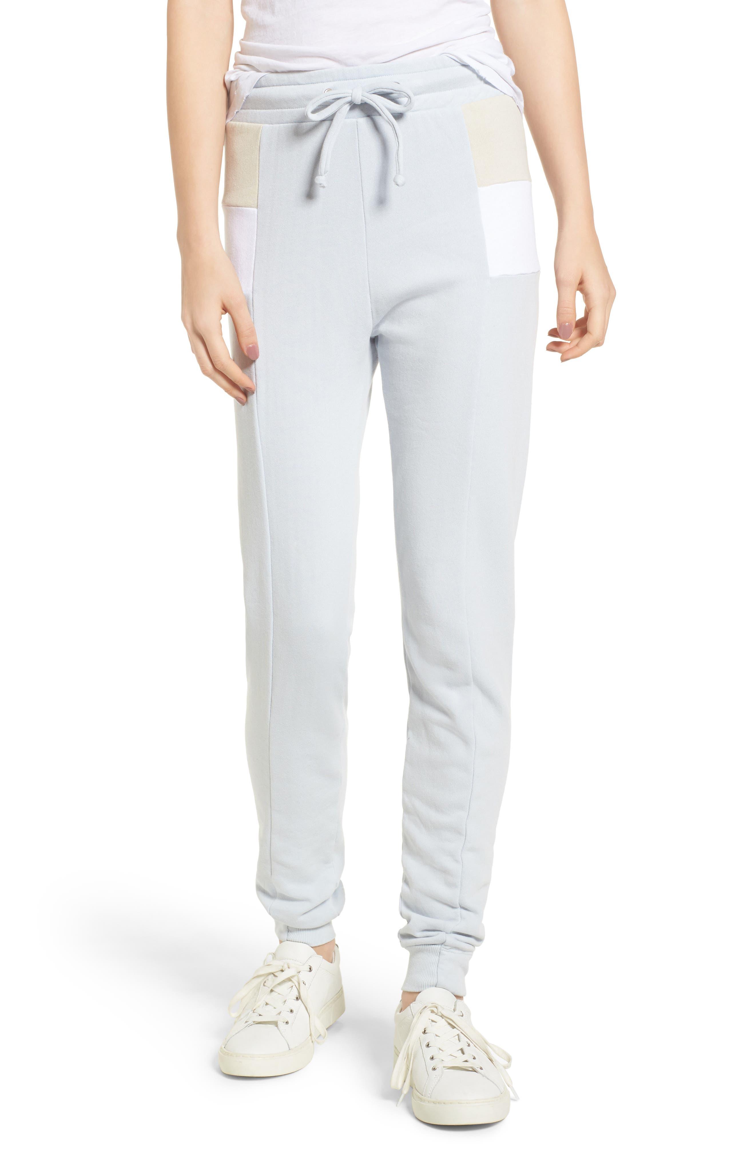 Sport Raina Jogger Pants,                         Main,                         color, Blue Ribbon Multi
