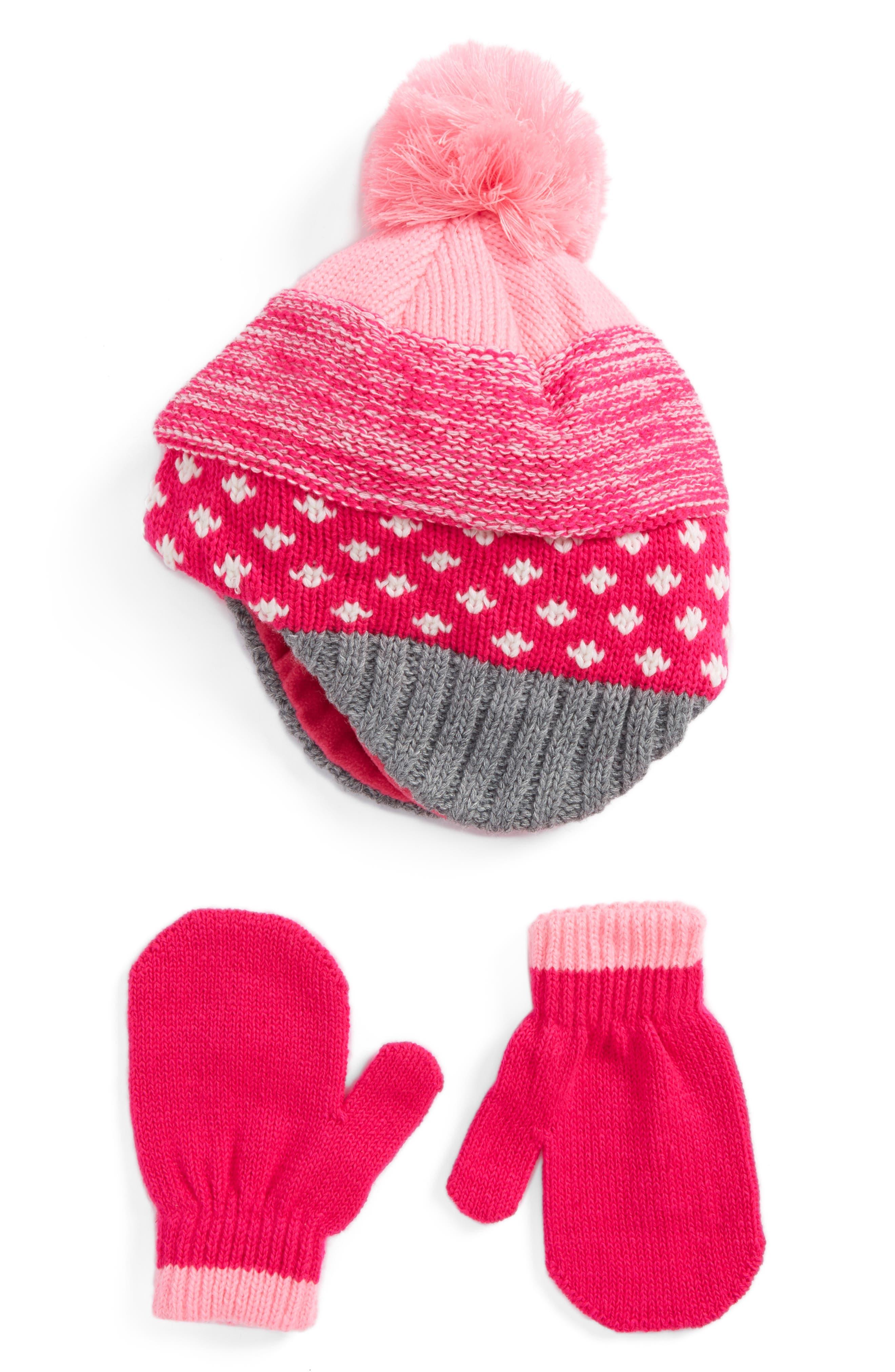 Nolan Glove Beanie & Mittens (Toddler)