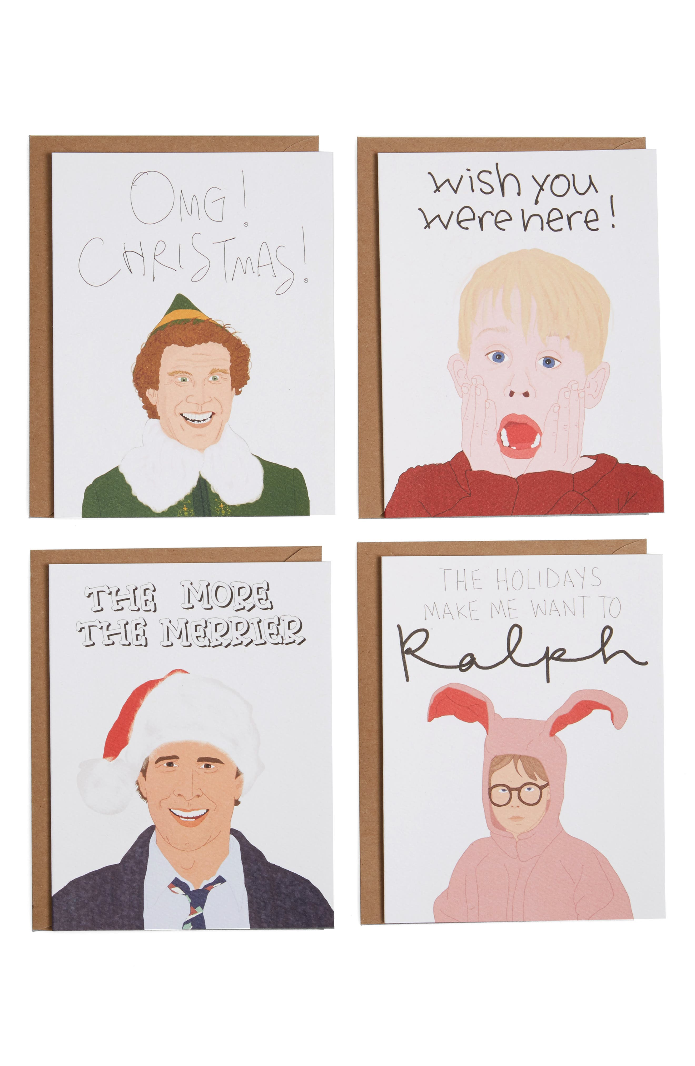 Tay Ham Set of 12 Boxed Holiday Cards